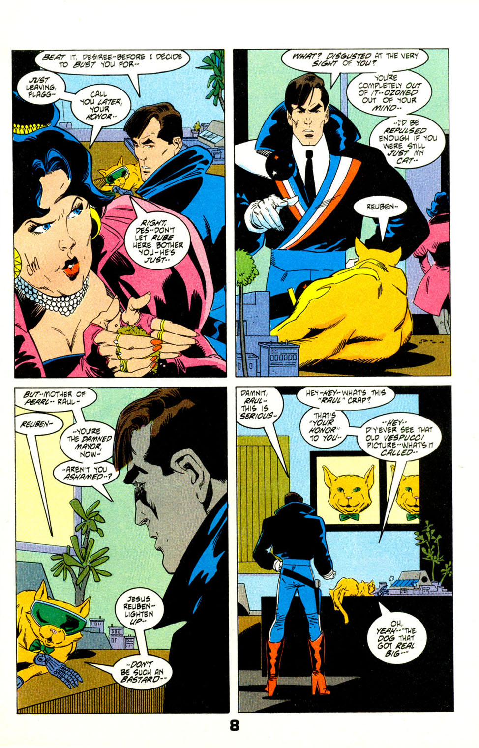Read online American Flagg! comic -  Issue #29 - 11