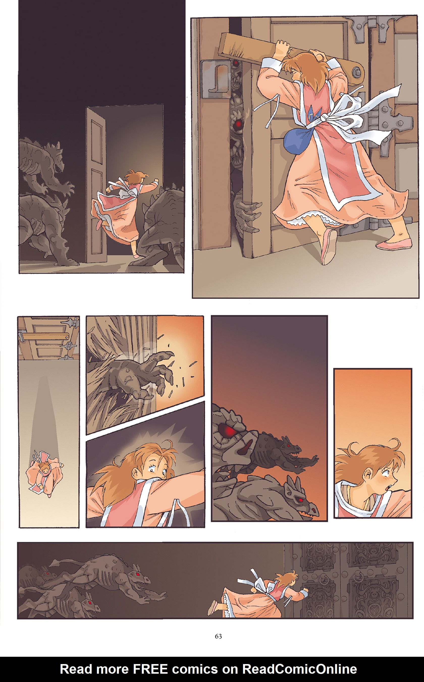 Read online Courageous Princess comic -  Issue # TPB 1 - 64