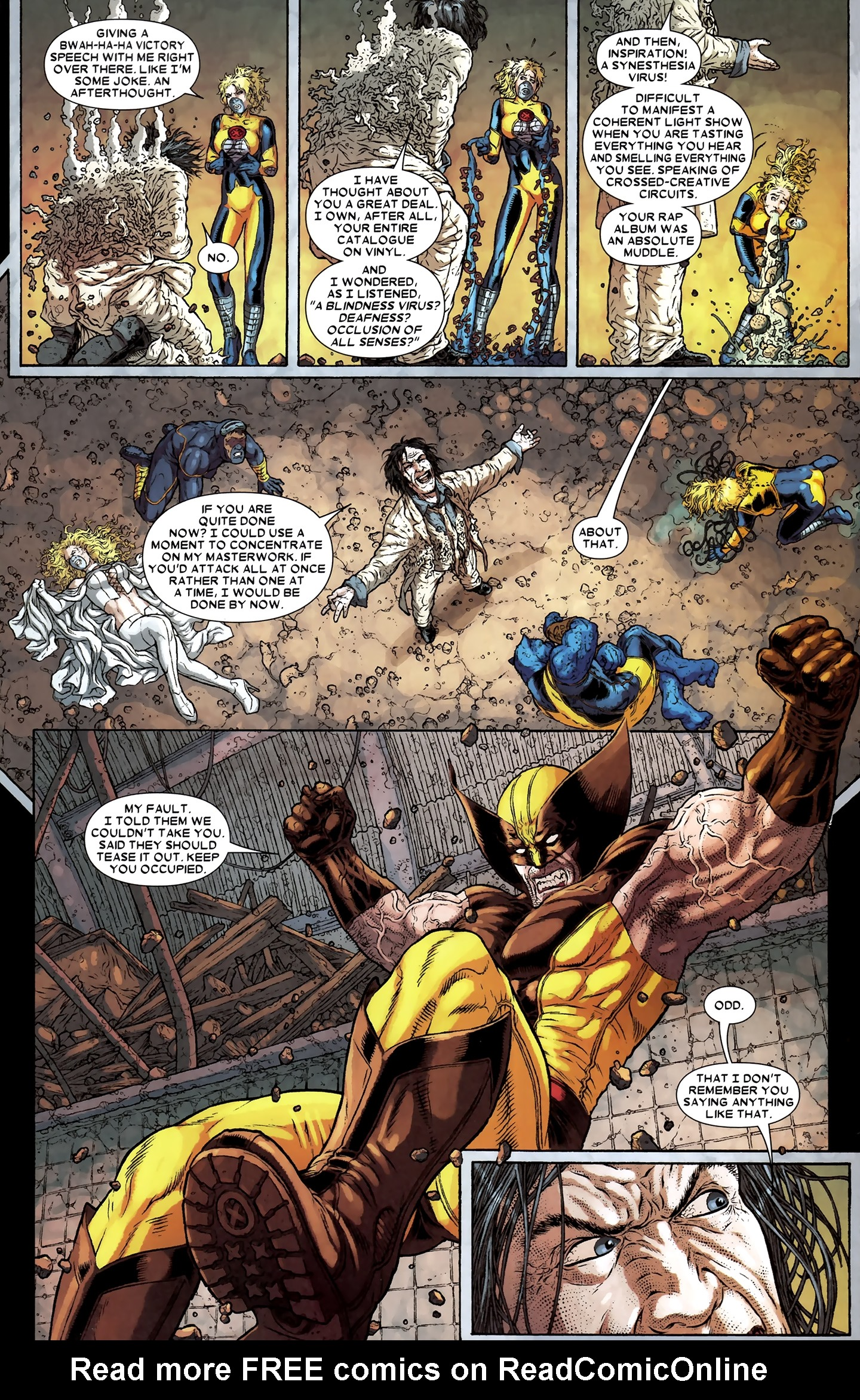 Read online Wolverine: The Best There Is comic -  Issue #12 - 15
