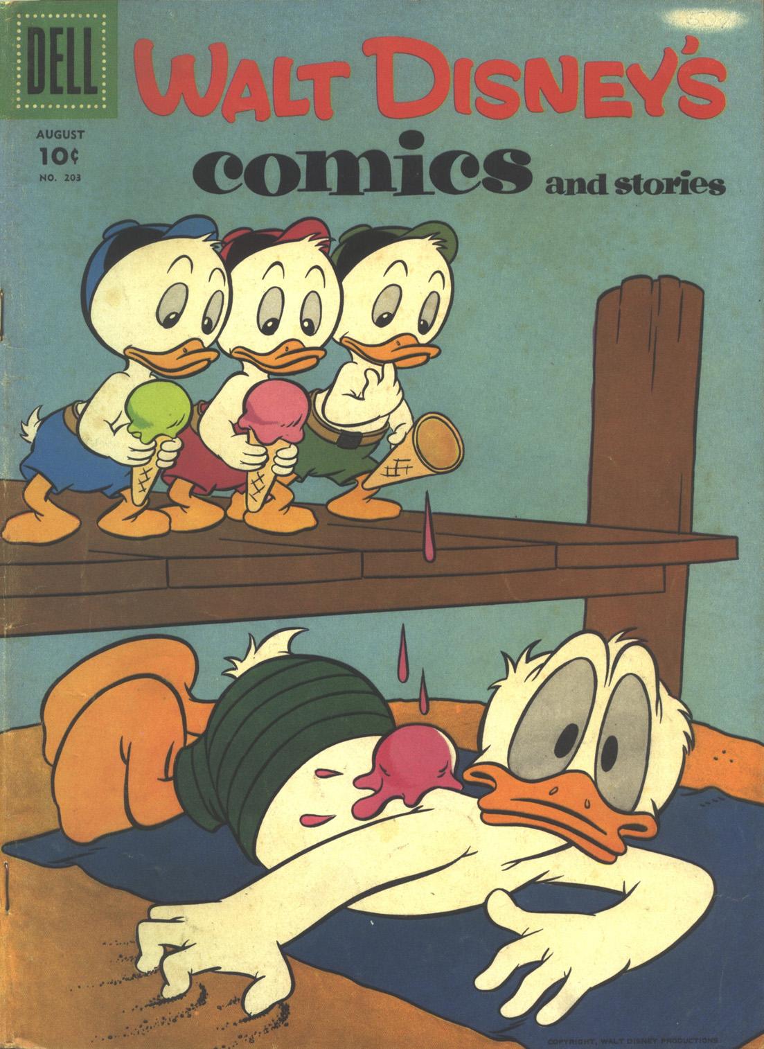 Walt Disneys Comics and Stories 203 Page 1
