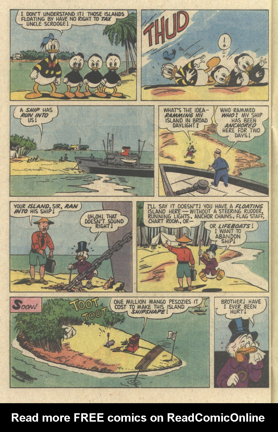 Read online Uncle Scrooge (1953) comic -  Issue #239 - 32
