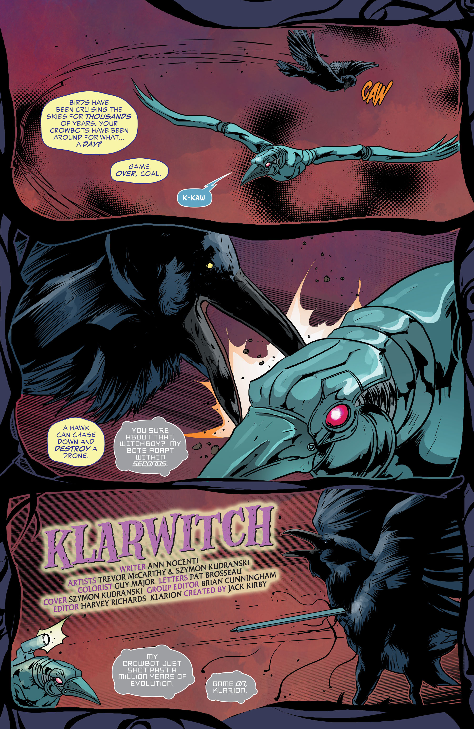 Read online Klarion comic -  Issue #6 - 2