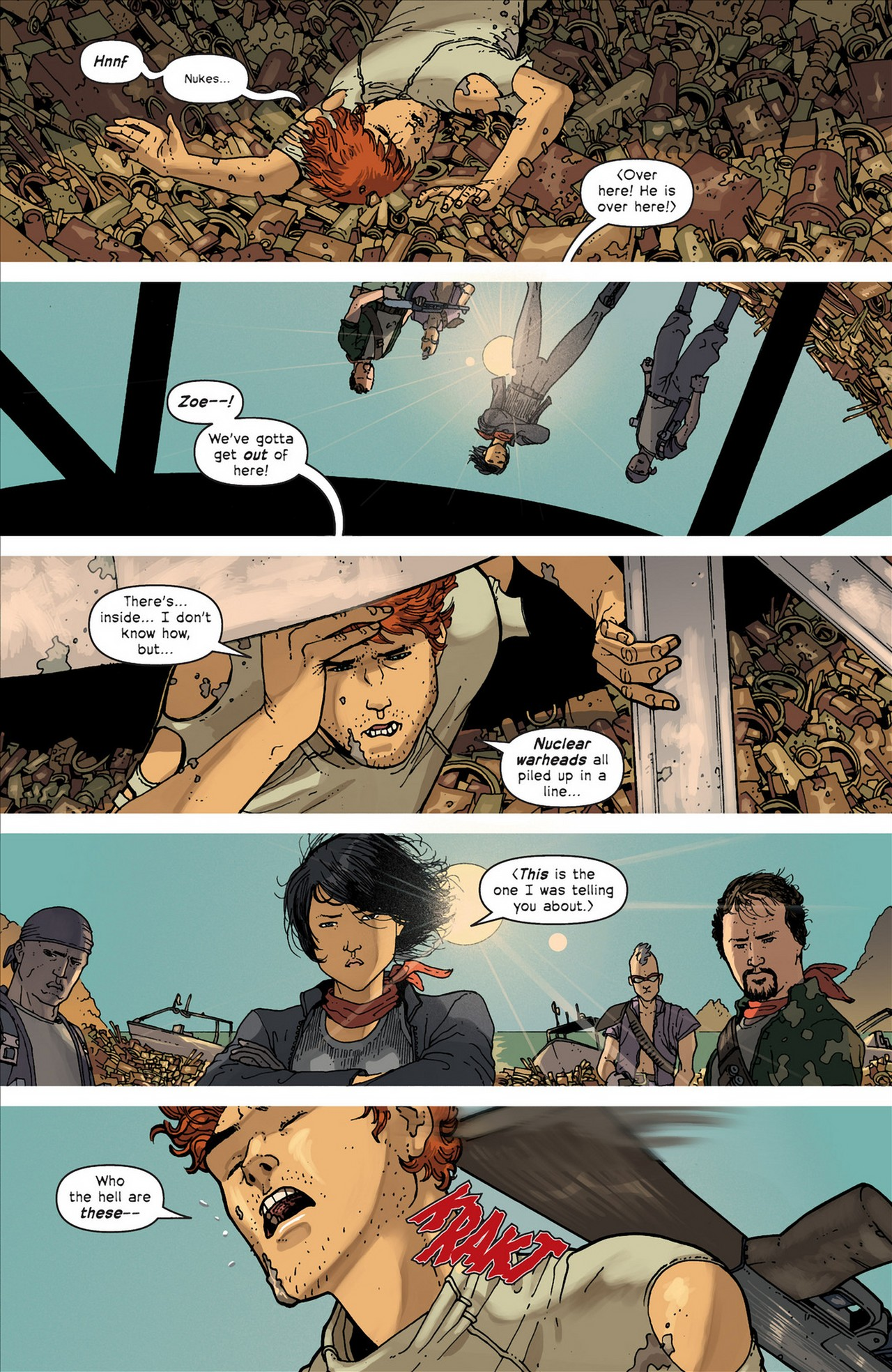 Read online Great Pacific comic -  Issue #4 - 24