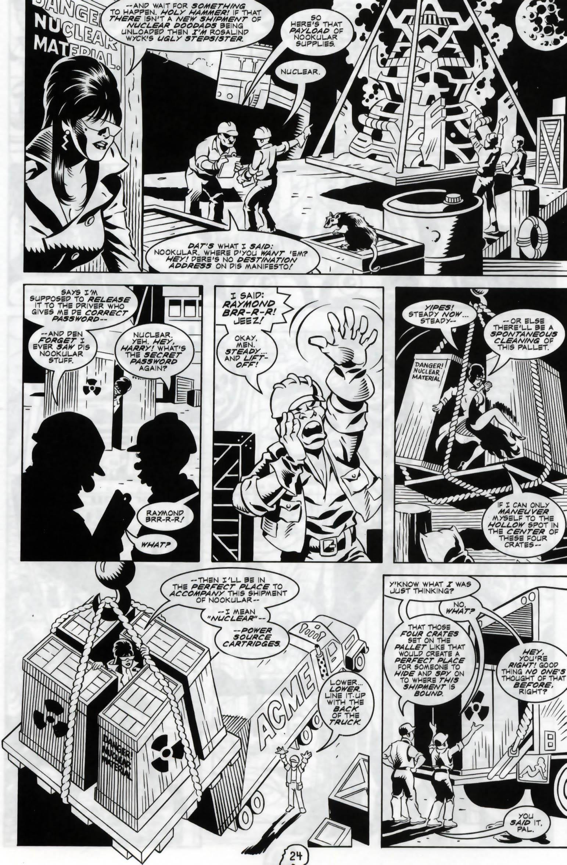 Read online Elvira, Mistress of the Dark comic -  Issue #120 - 21