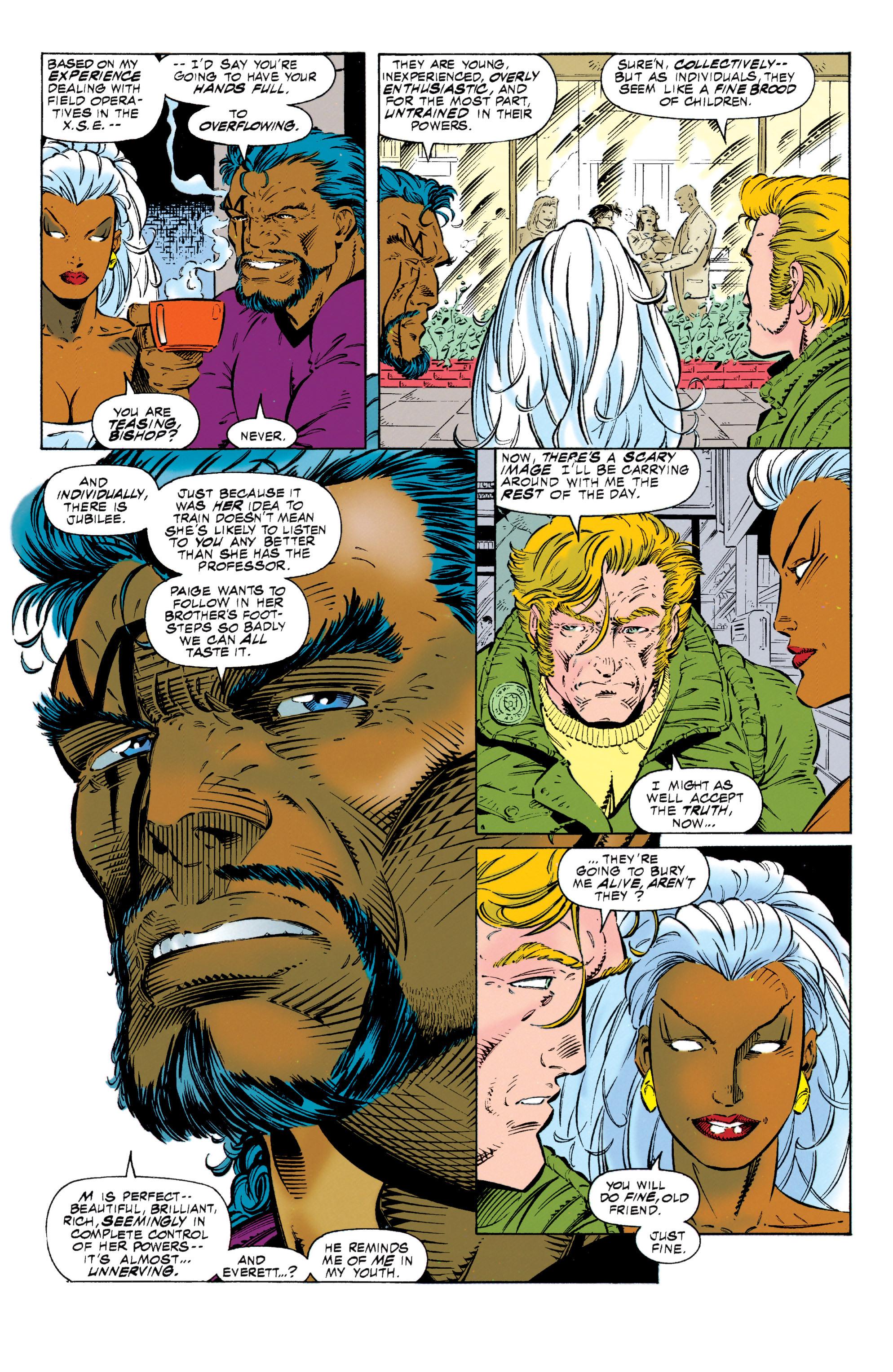 Read online Uncanny X-Men (1963) comic -  Issue #318 - 10