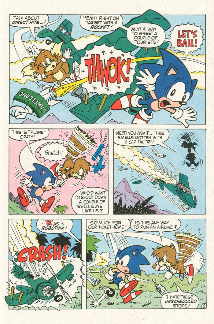 Read online Sonic Super Special comic -  Issue #3 - Sonic Firsts - 38