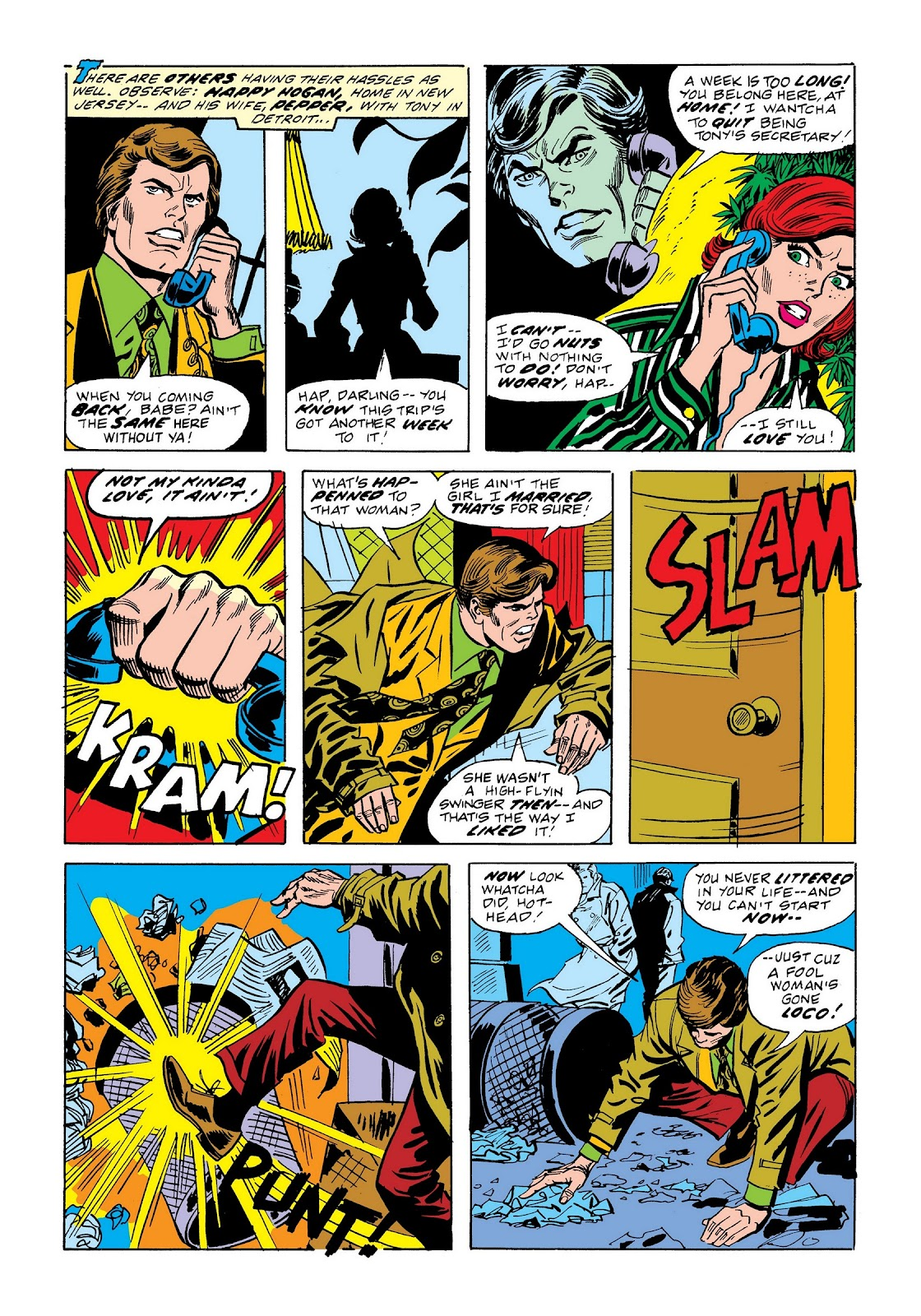 Read online Marvel Masterworks: The Invincible Iron Man comic -  Issue # TPB 9 (Part 2) - 40