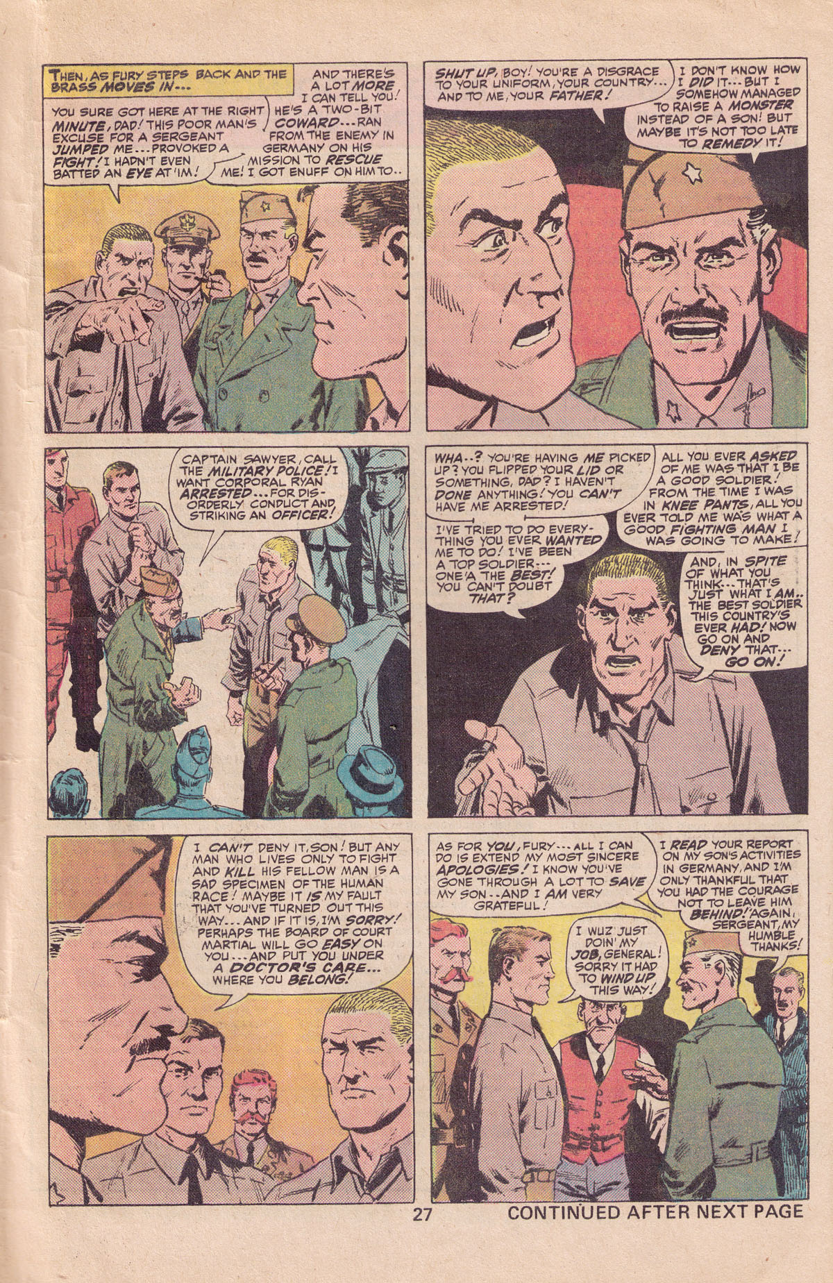 Read online Sgt. Fury comic -  Issue #140 - 29