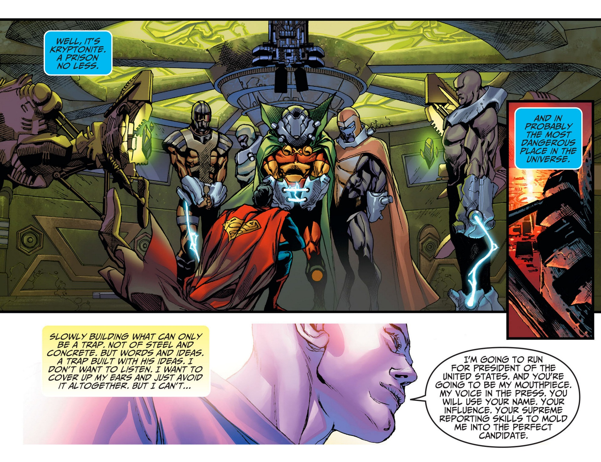 Read online Adventures of Superman [I] comic -  Issue #8 - 20
