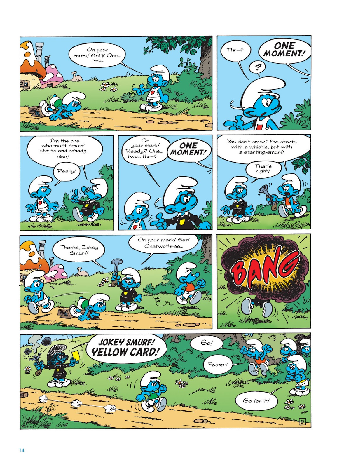 Read online The Smurfs comic -  Issue #11 - 14