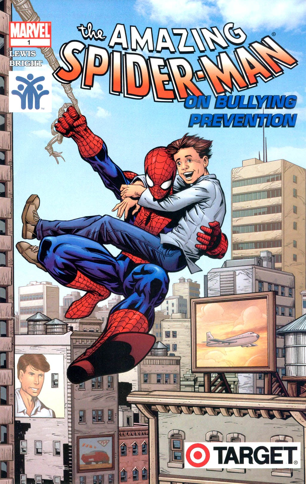 Prevent Child Abuse America Presents: Amazing Spider-Man on Bullying Prevention Full Page 1
