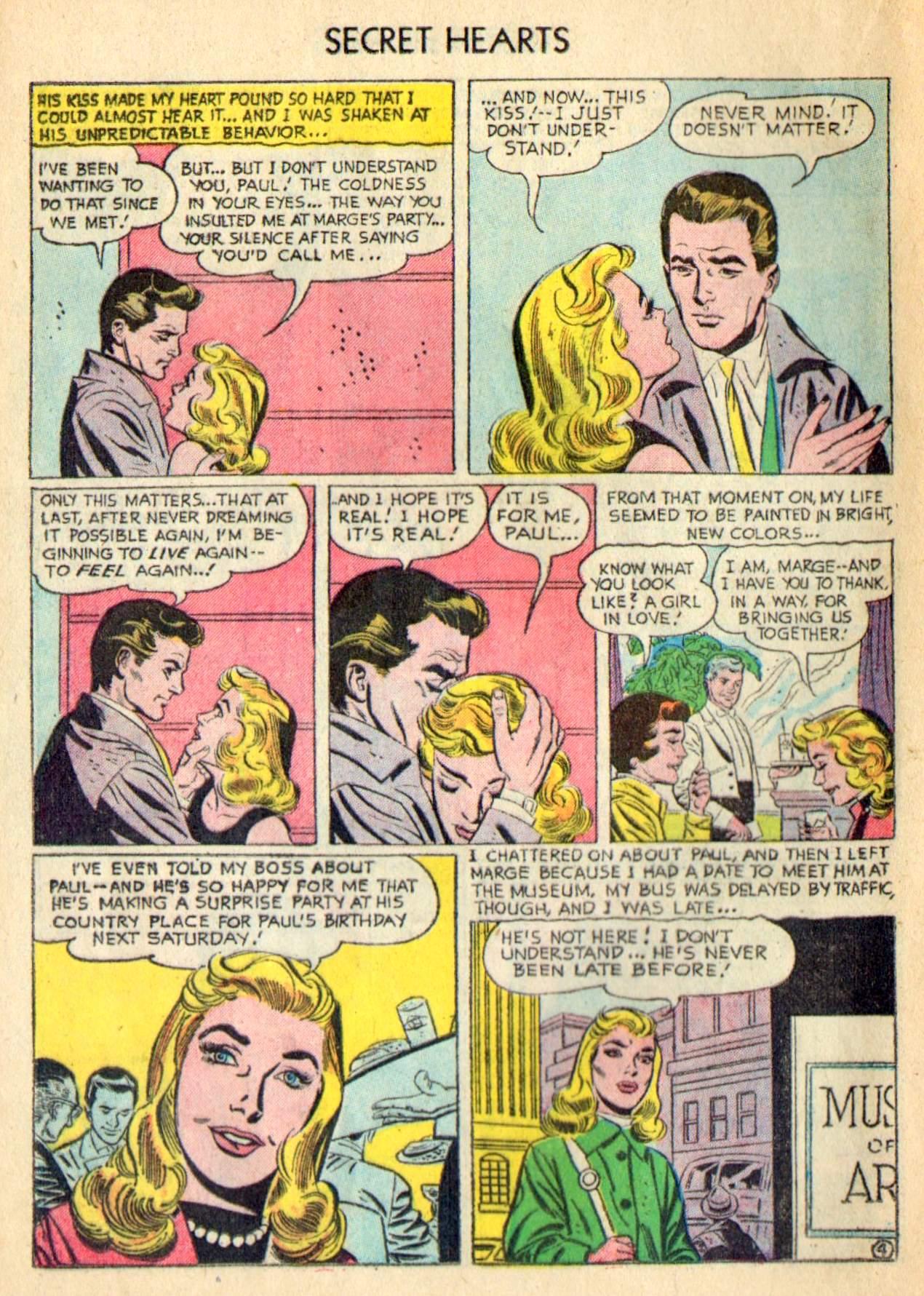 Read online Secret Hearts comic -  Issue #31 - 20