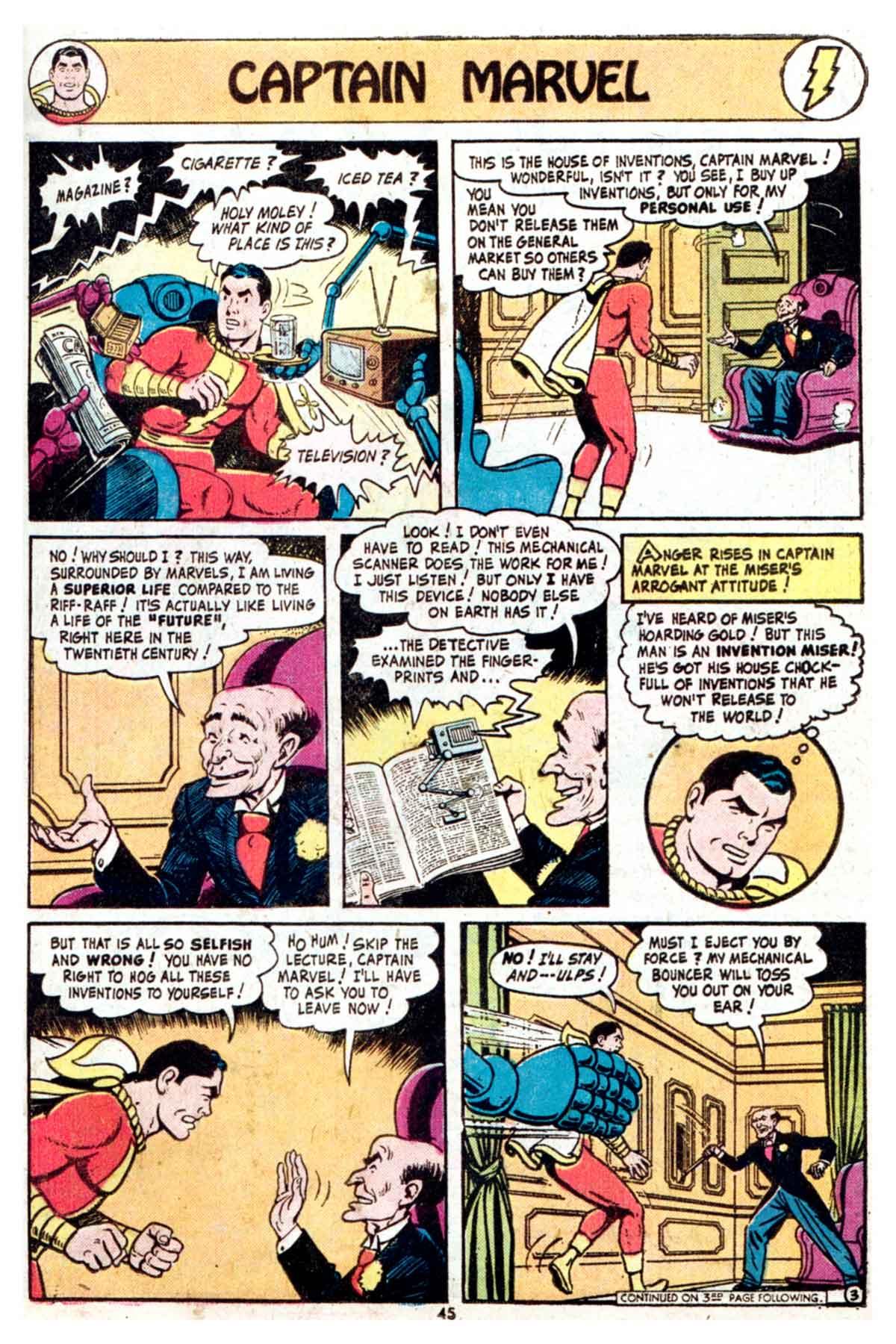 Read online Shazam! (1973) comic -  Issue #16 - 45