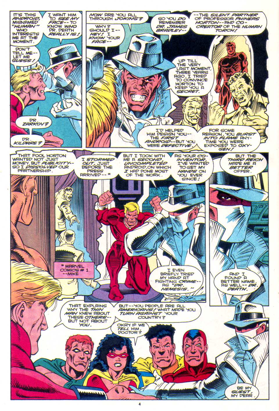 Read online The Invaders (1993) comic -  Issue #3 - 5