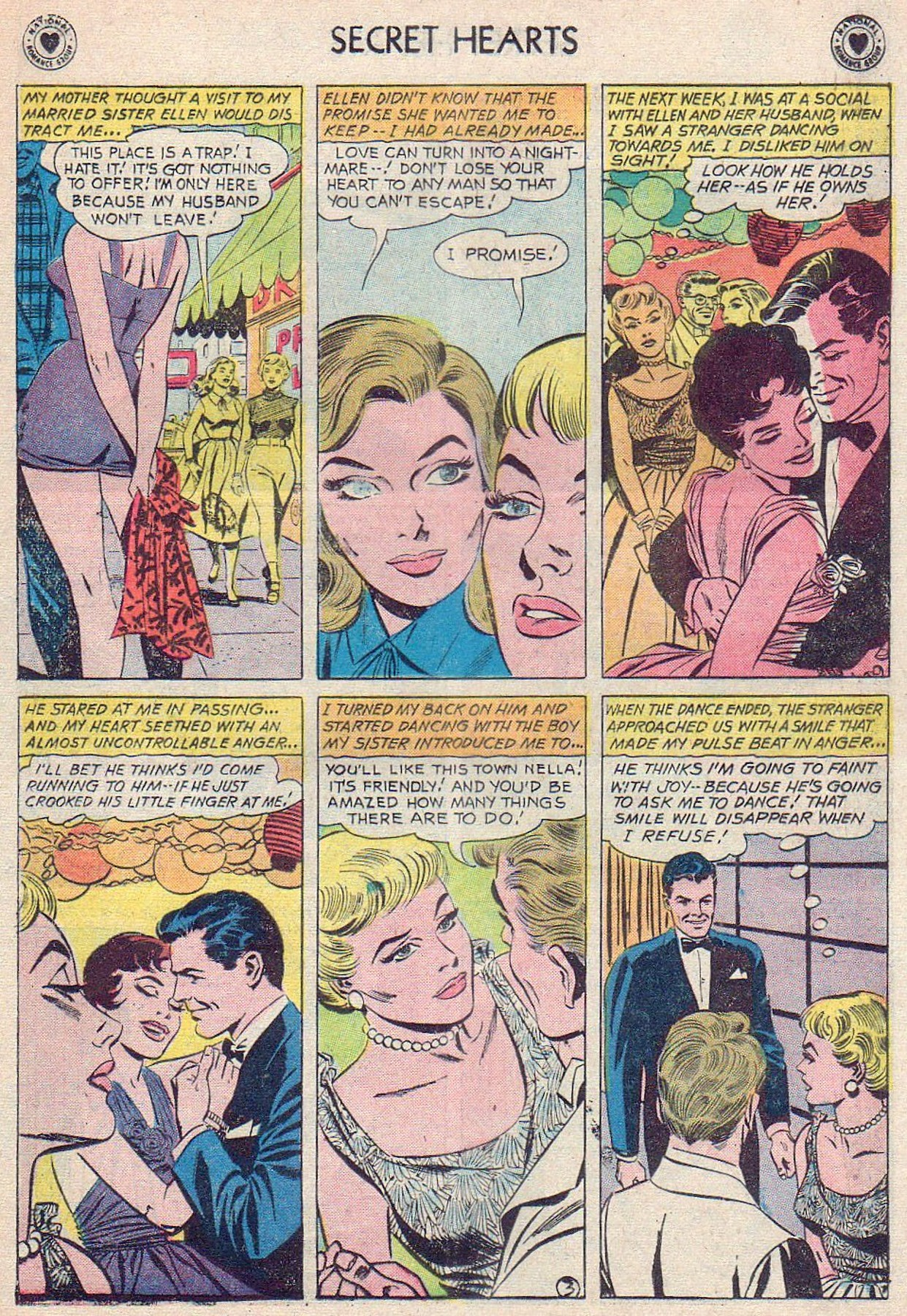Read online Secret Hearts comic -  Issue #61 - 29