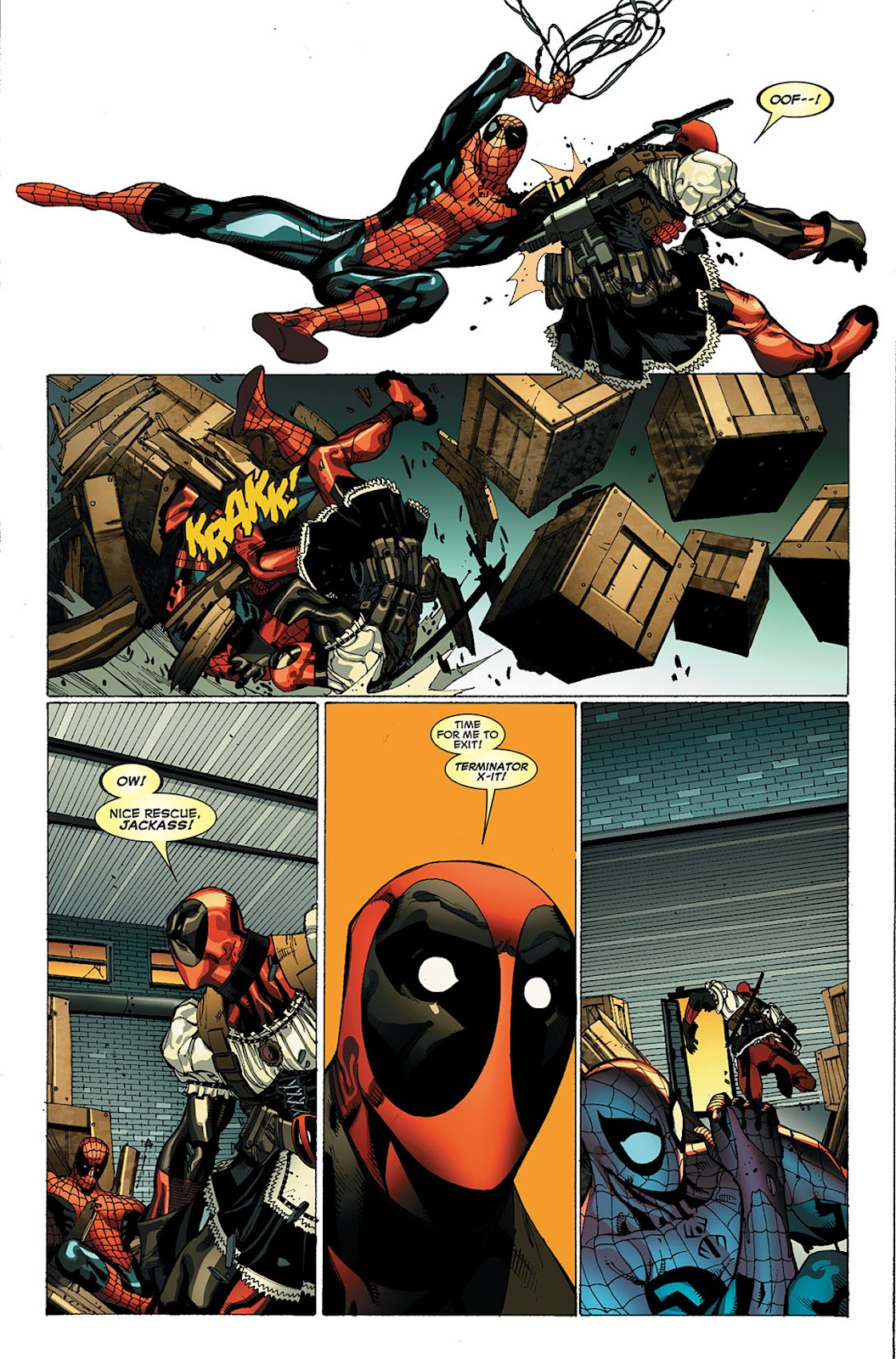 Read online Deadpool (2008) comic -  Issue #20 - 20