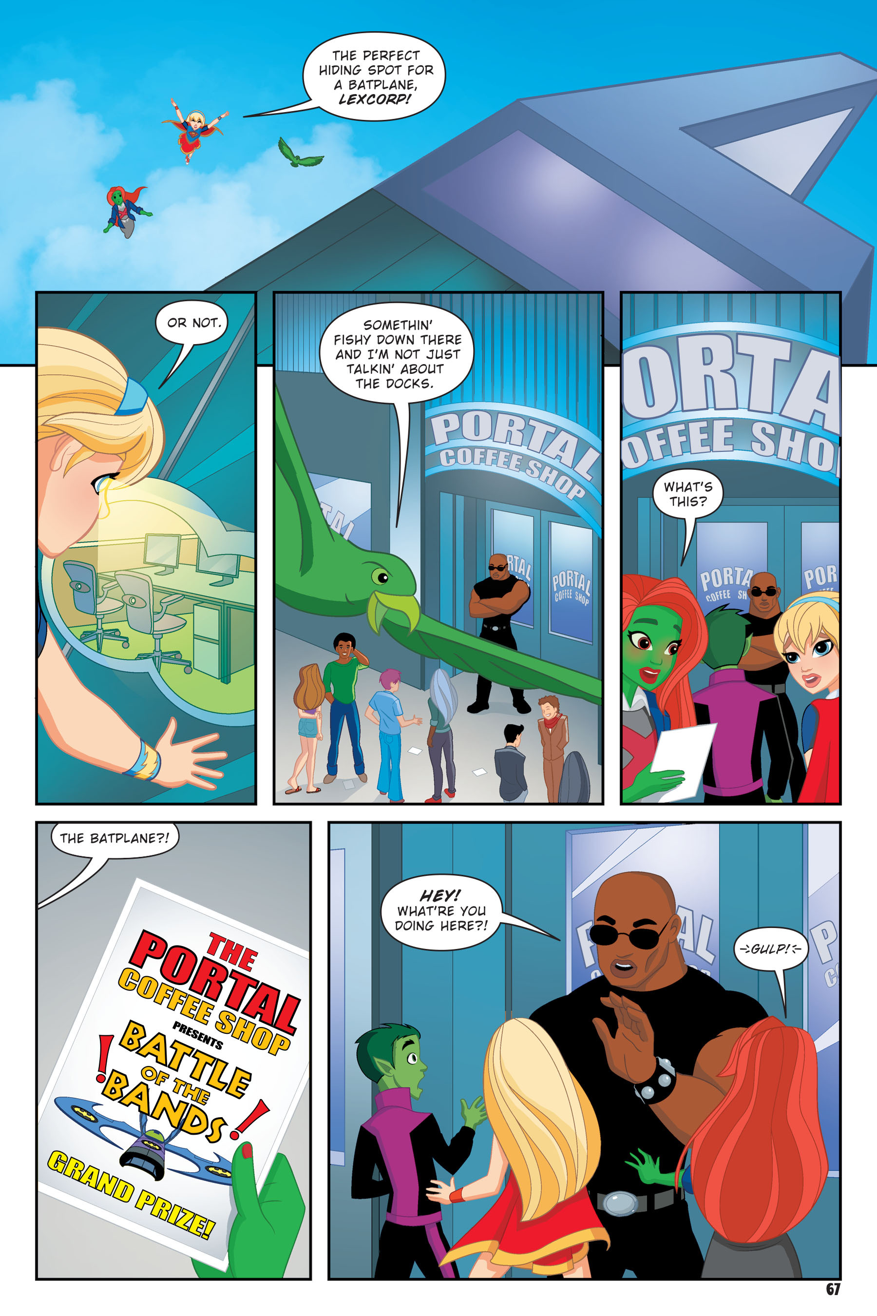 Read online DC Super Hero Girls: Hits and Myths comic -  Issue # Full - 64