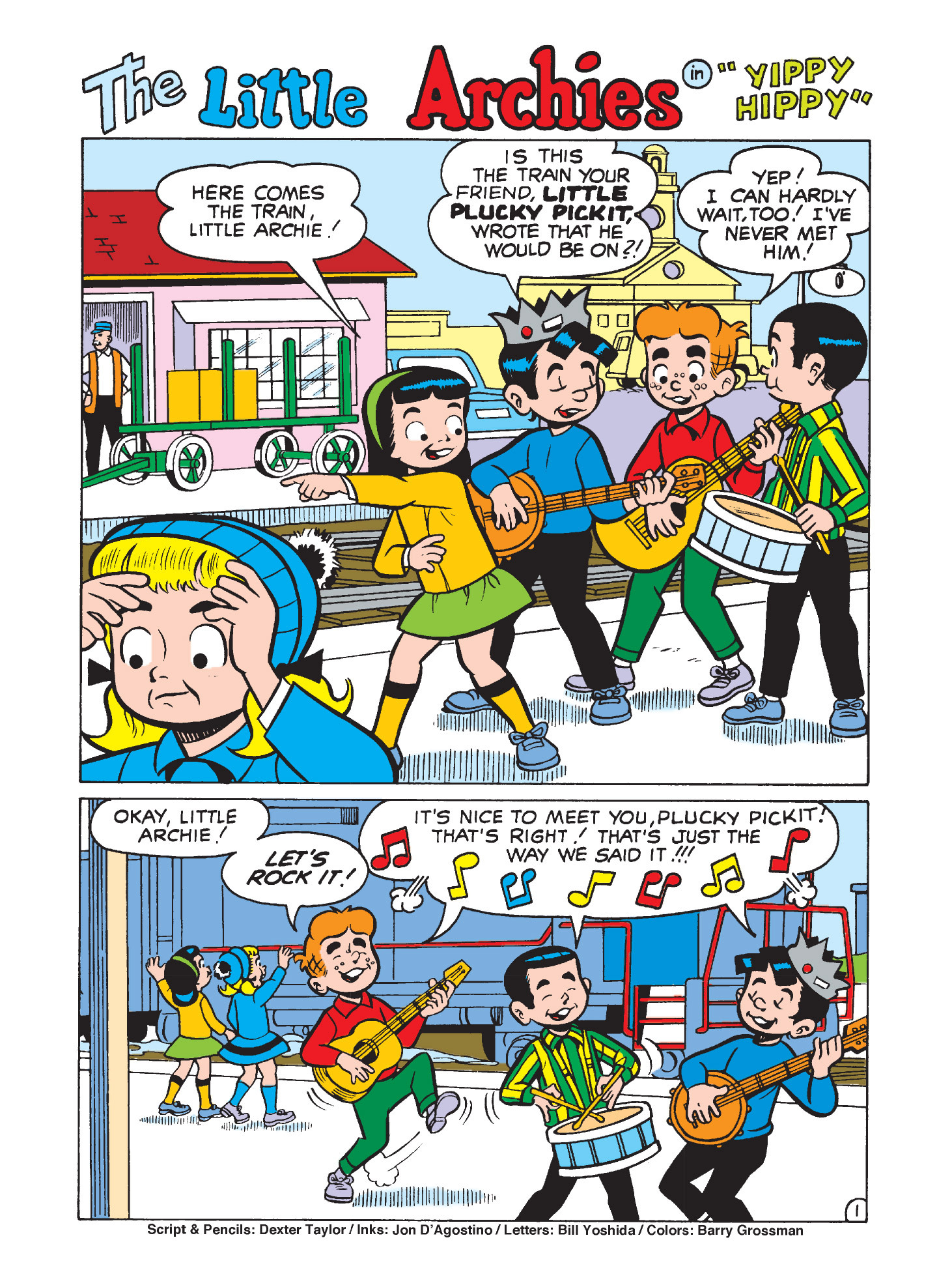 Read online Archie's Funhouse Double Digest comic -  Issue #3 - 132