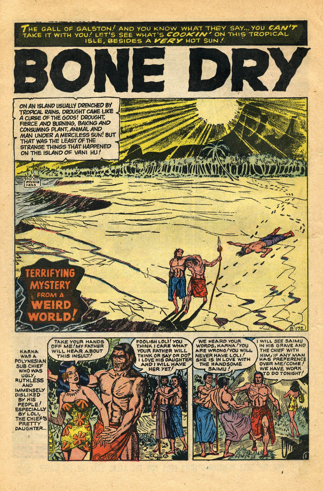 Read online Adventures into Weird Worlds comic -  Issue #29 - 22