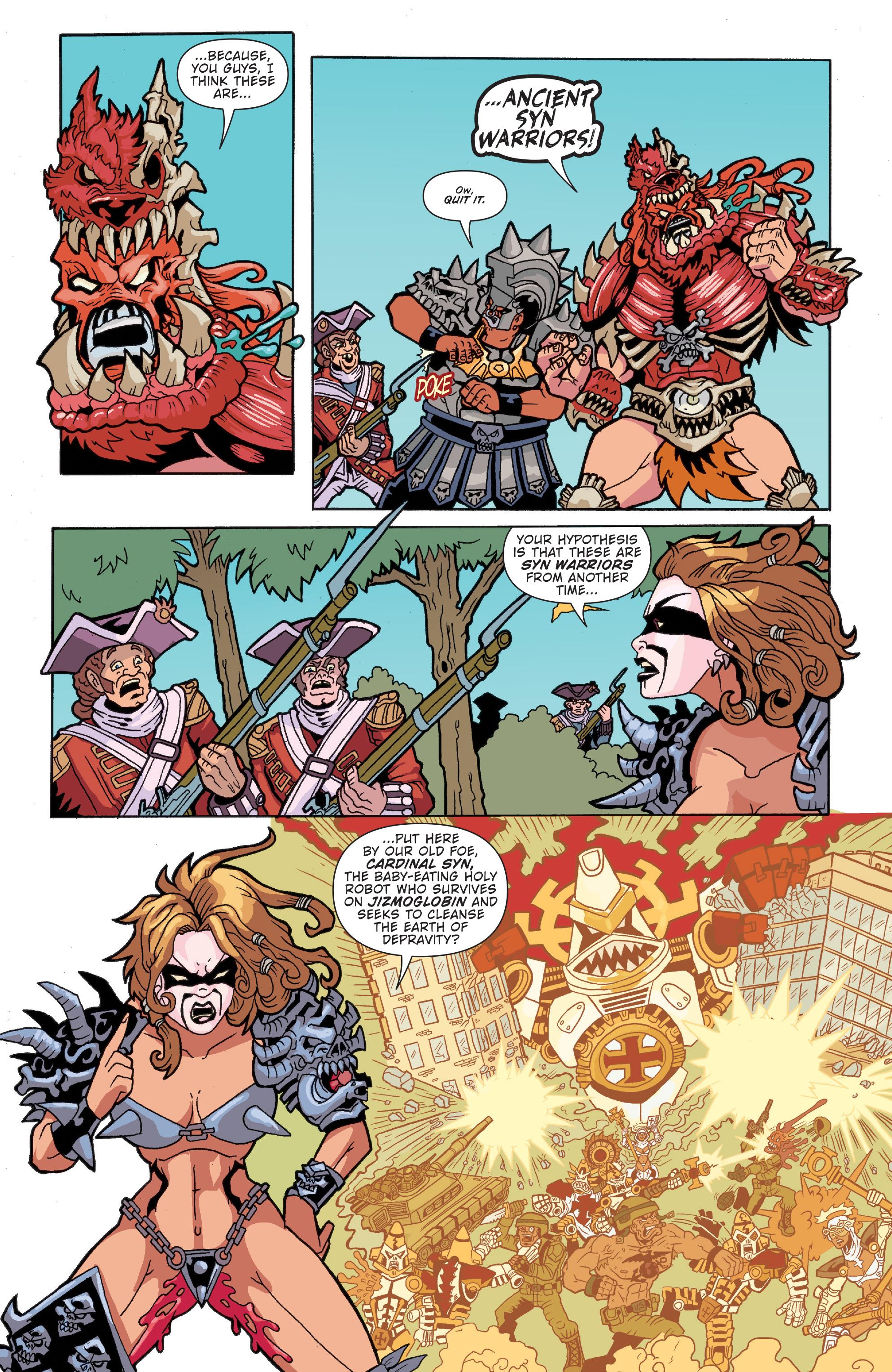 Read online Gwar: Orgasmageddon comic -  Issue #1 - 12