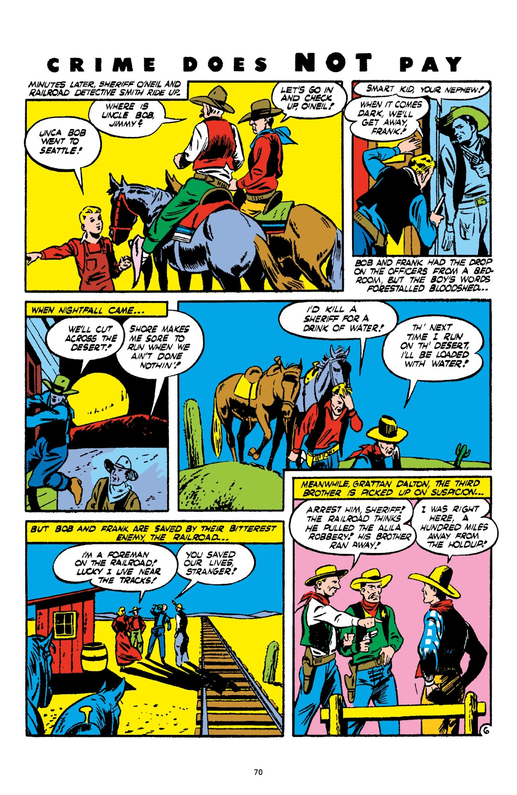 Read online Crime Does Not Pay Archives comic -  Issue # TPB 2 (Part 1) - 70