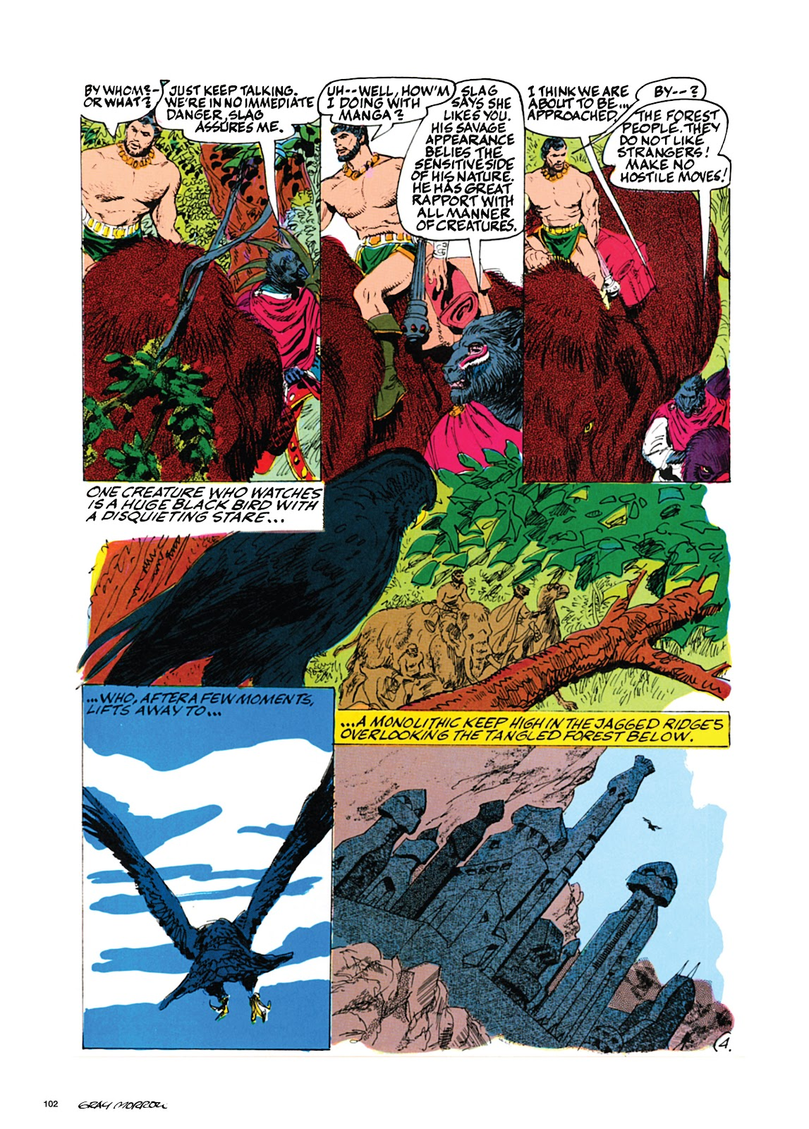 Read online Orion and Edge of Chaos comic -  Issue # TPB - 103
