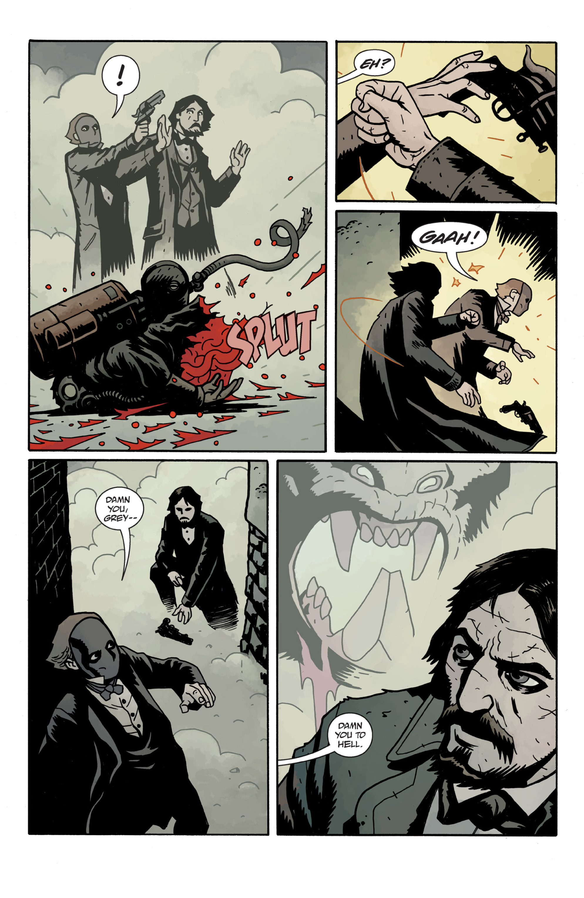 Read online Sir Edward Grey, Witchfinder: In the Service of Angels comic -  Issue # TPB - 87