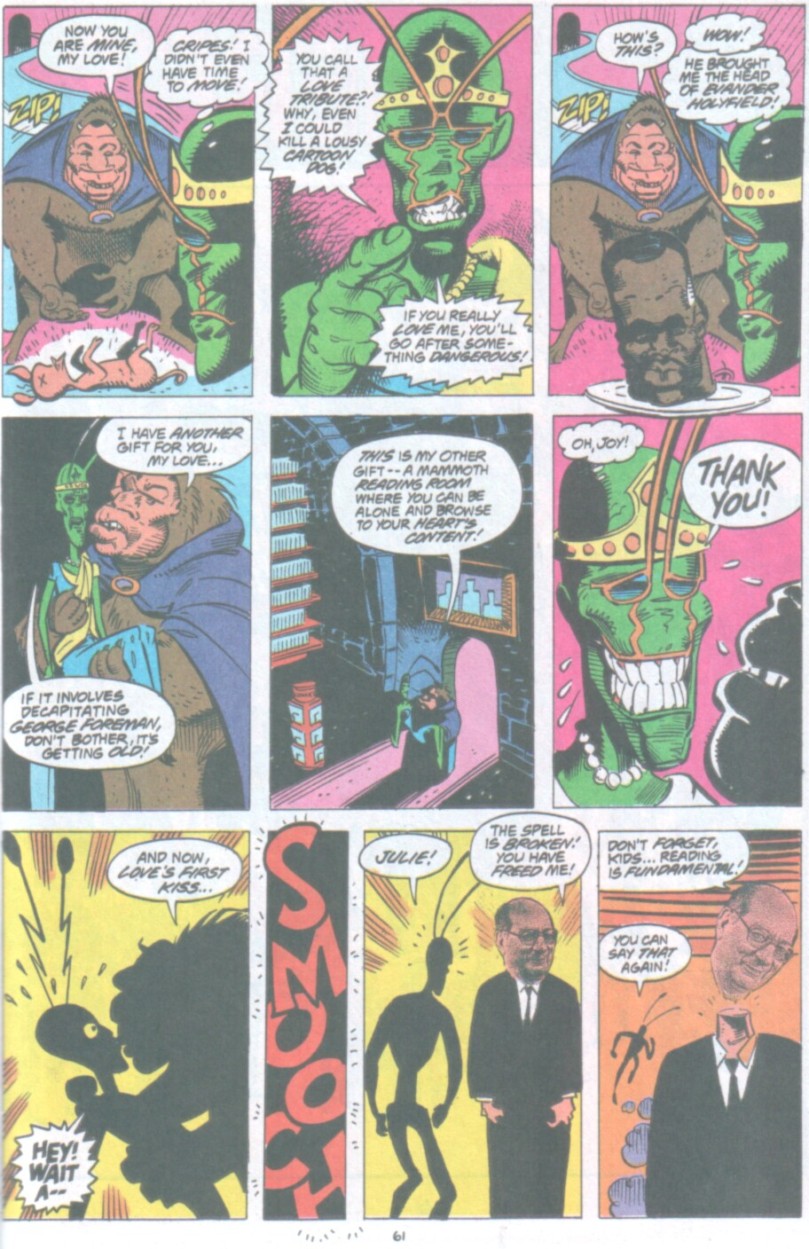 Read online Ambush Bug Nothing Special comic -  Issue # Full - 54