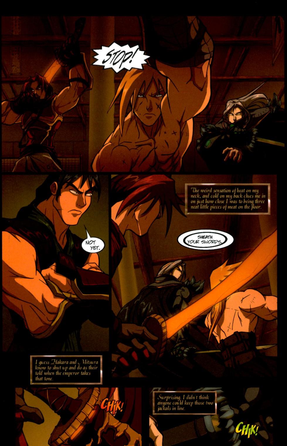 Read online Shidima comic -  Issue #4 - 6