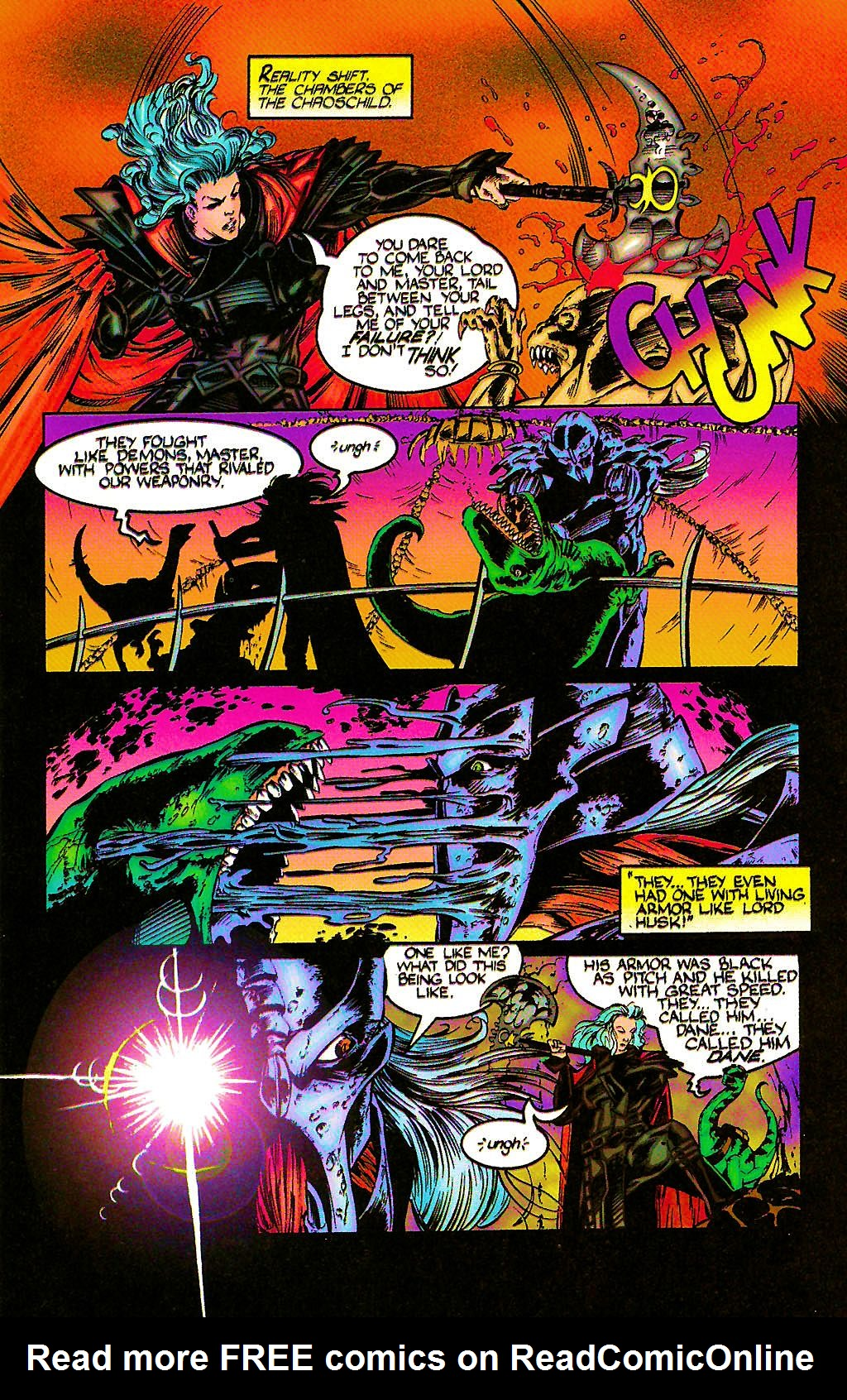 Read online Chains of Chaos comic -  Issue #2 - 25