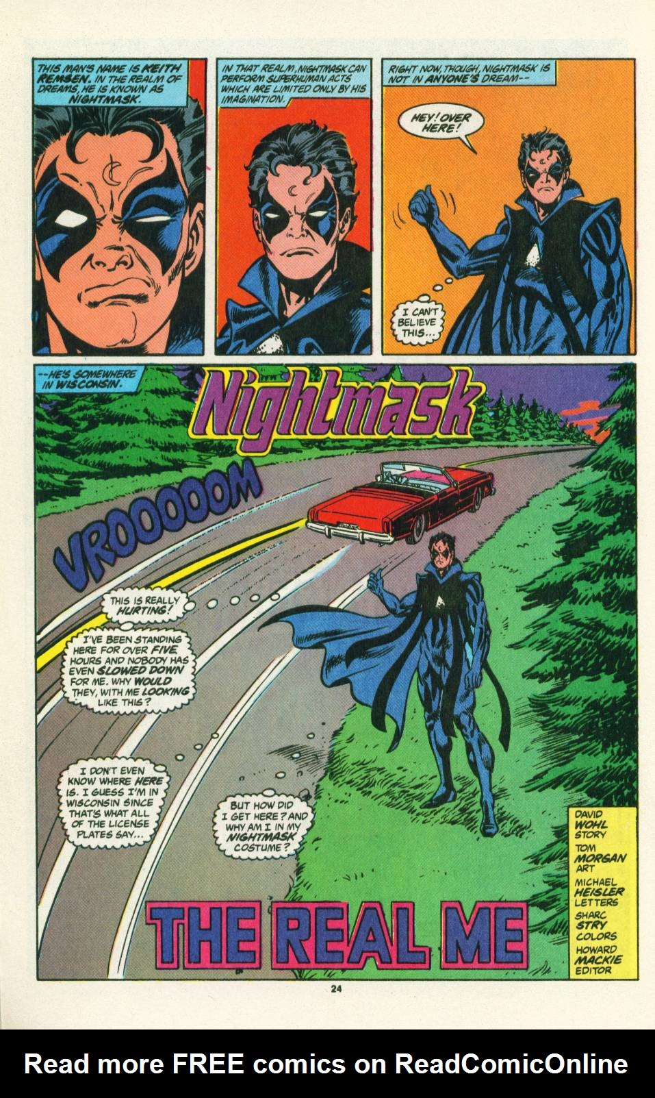 Read online Justice (1986) comic -  Issue #25 - 25