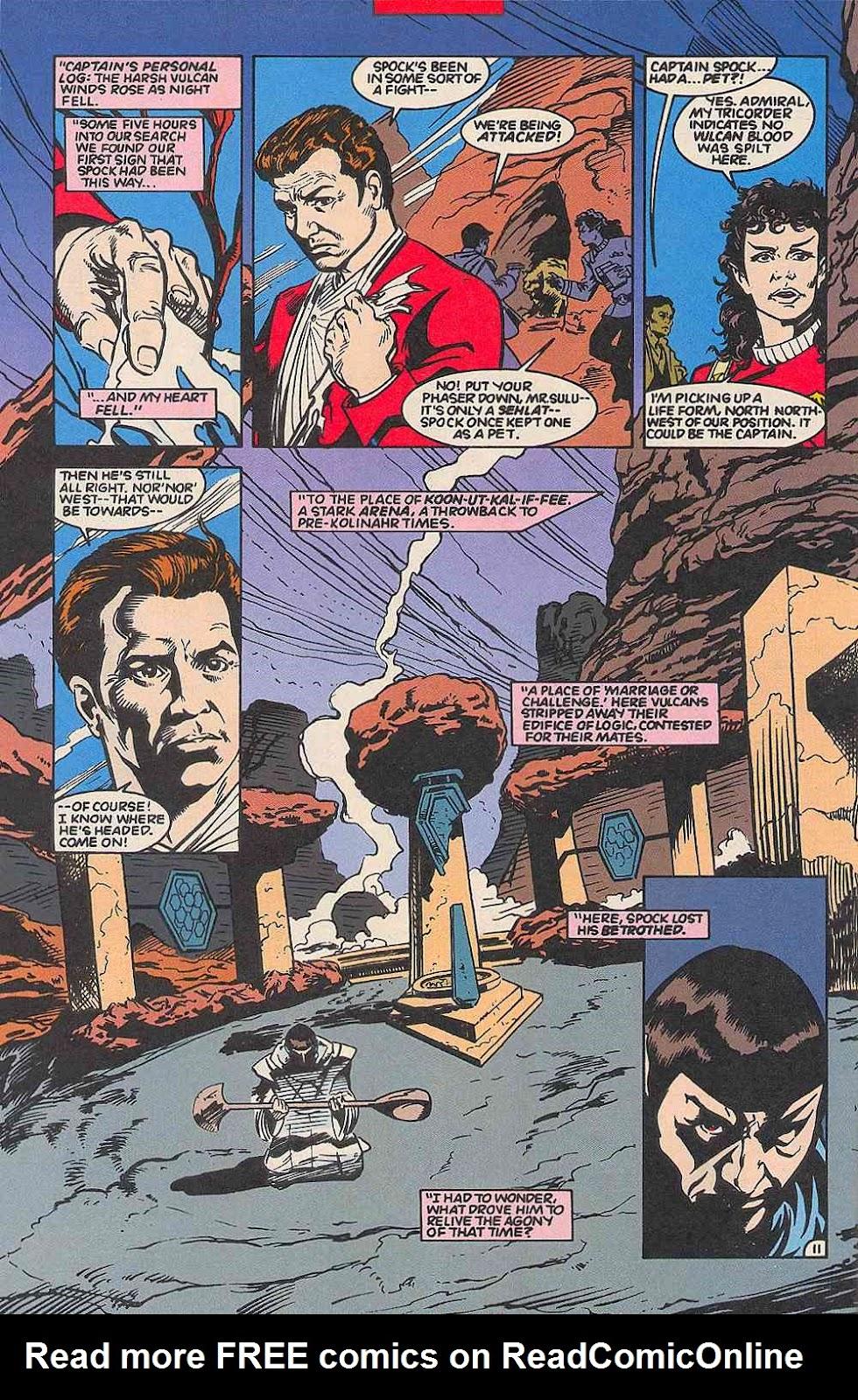 Read online Star Trek (1989) comic -  Issue # _Special 1 - 58
