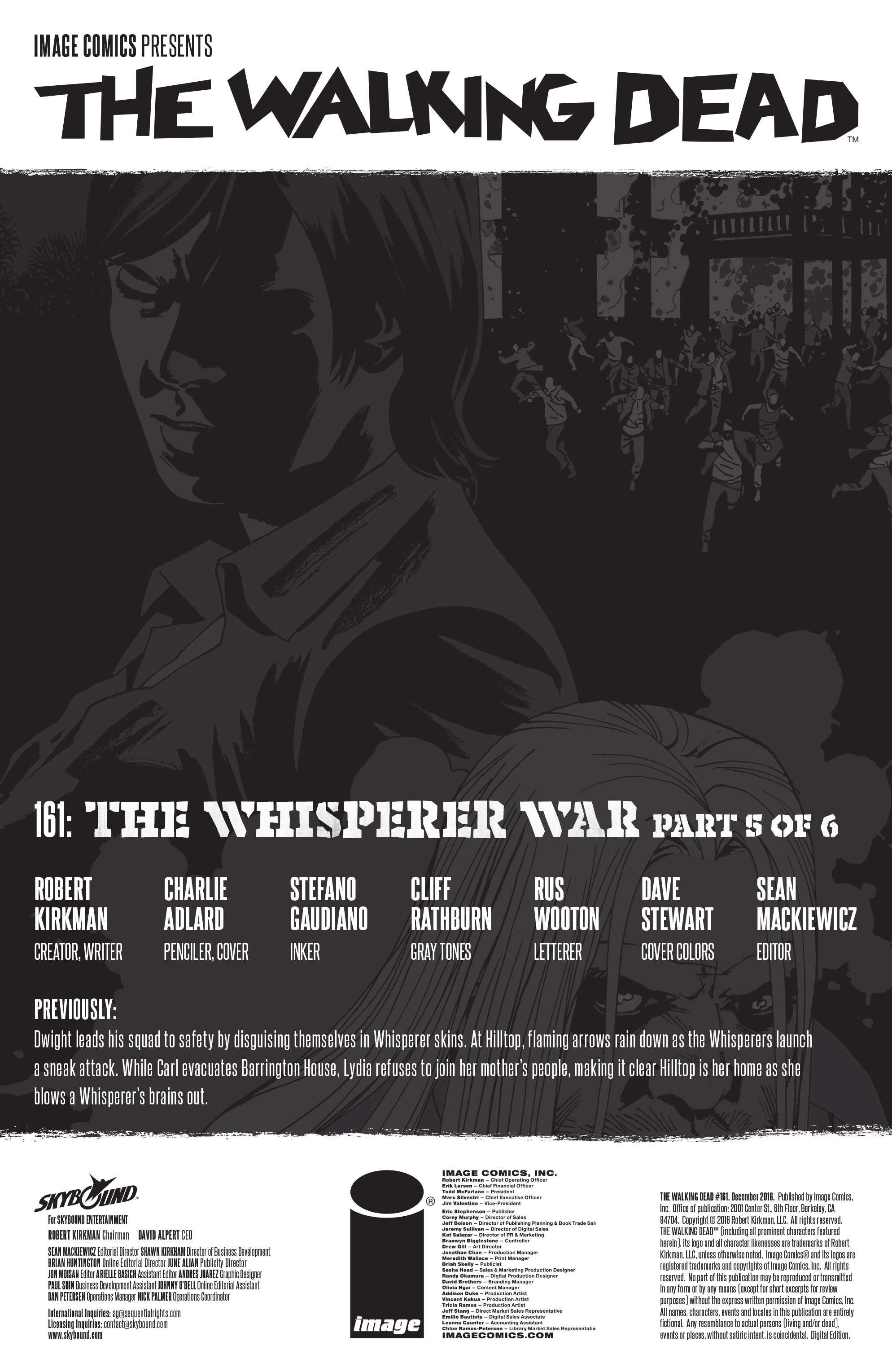 The Walking Dead 161 Page 2