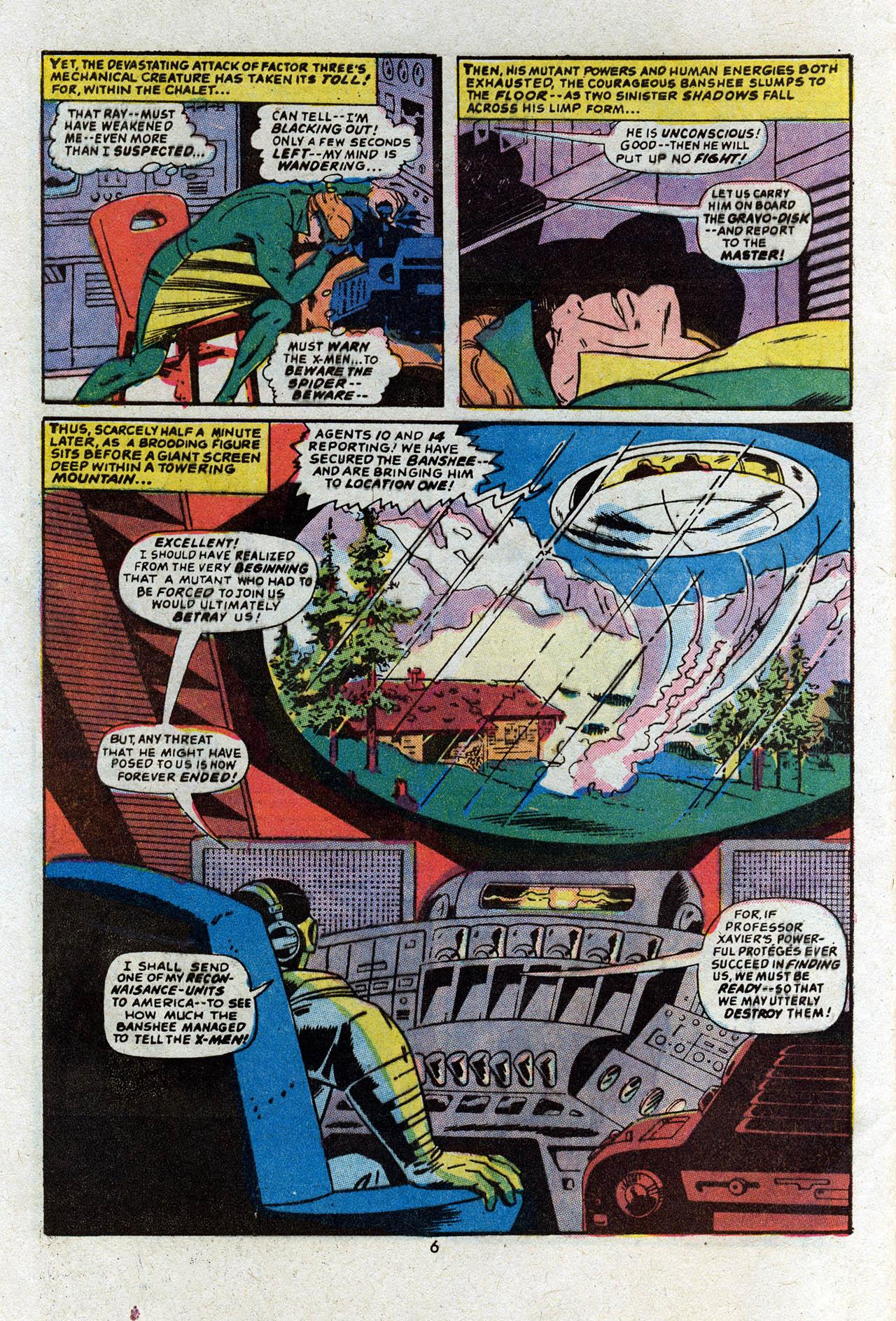 Read online Uncanny X-Men (1963) comic -  Issue #83 - 8