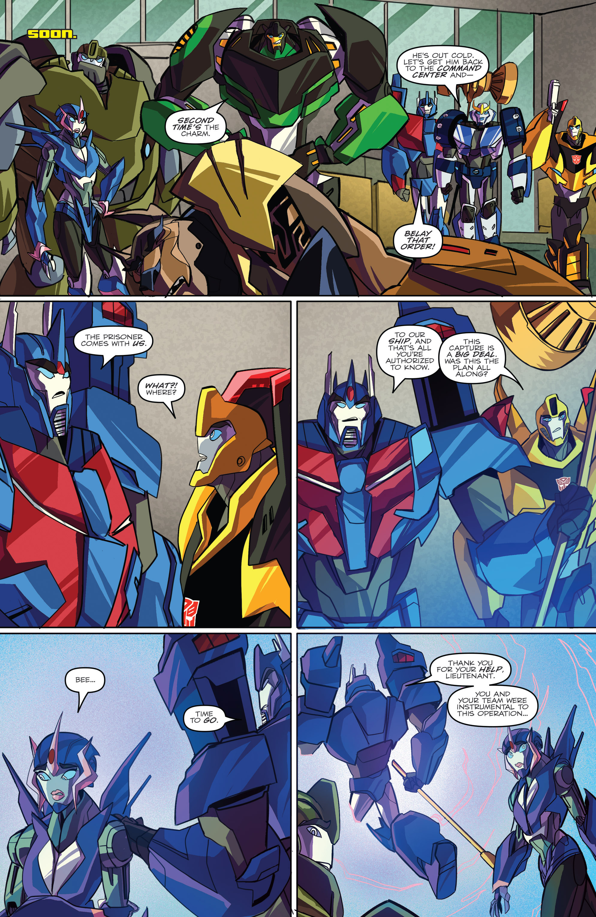 Read online Transformers: Robots In Disguise (2015) comic -  Issue #2 - 22