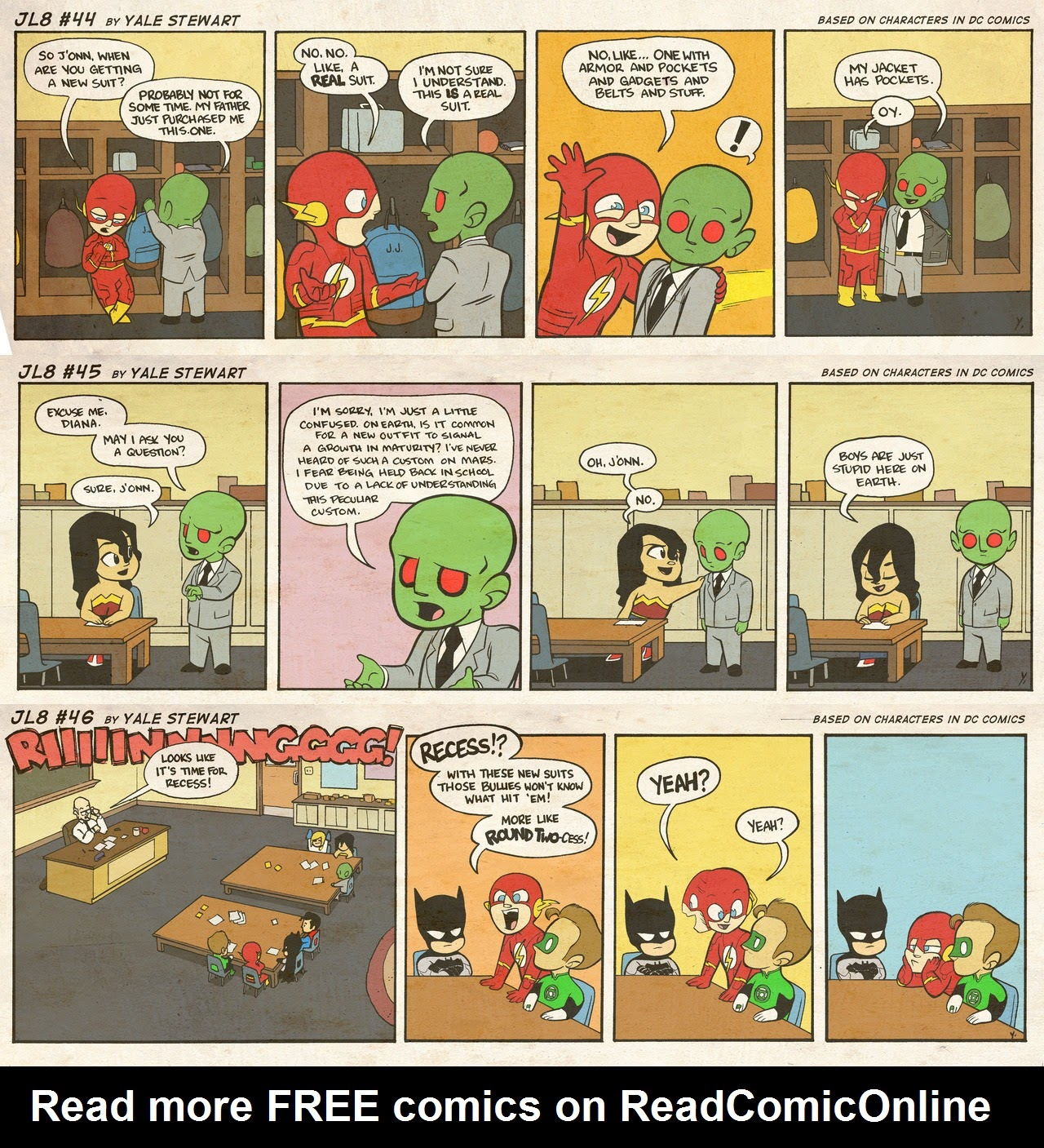 Read online JL8 – The Complete Collection comic -  Issue # TPB (Part 1) - 18