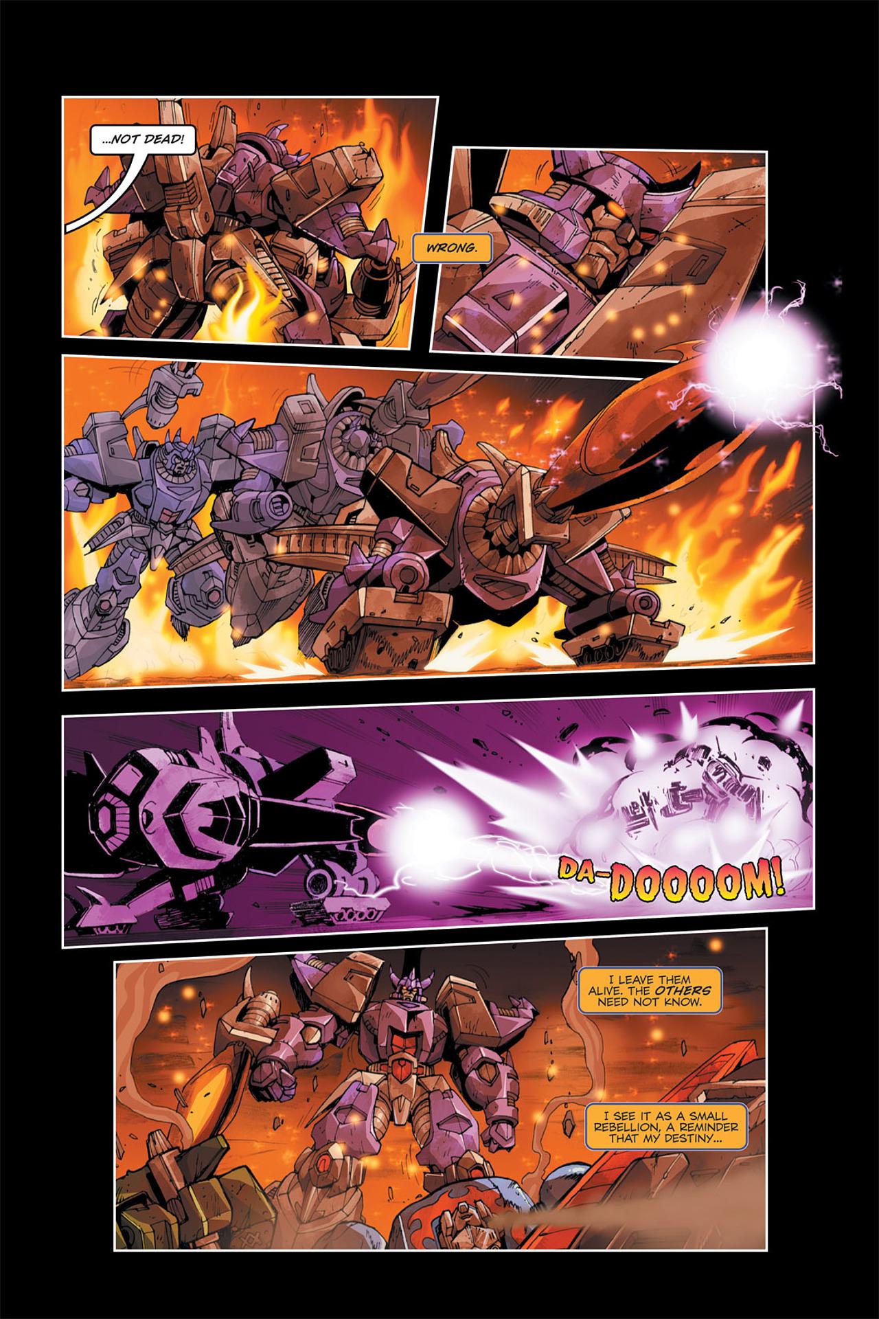 Read online Transformers Spotlight: Galvatron comic -  Issue # Full - 23