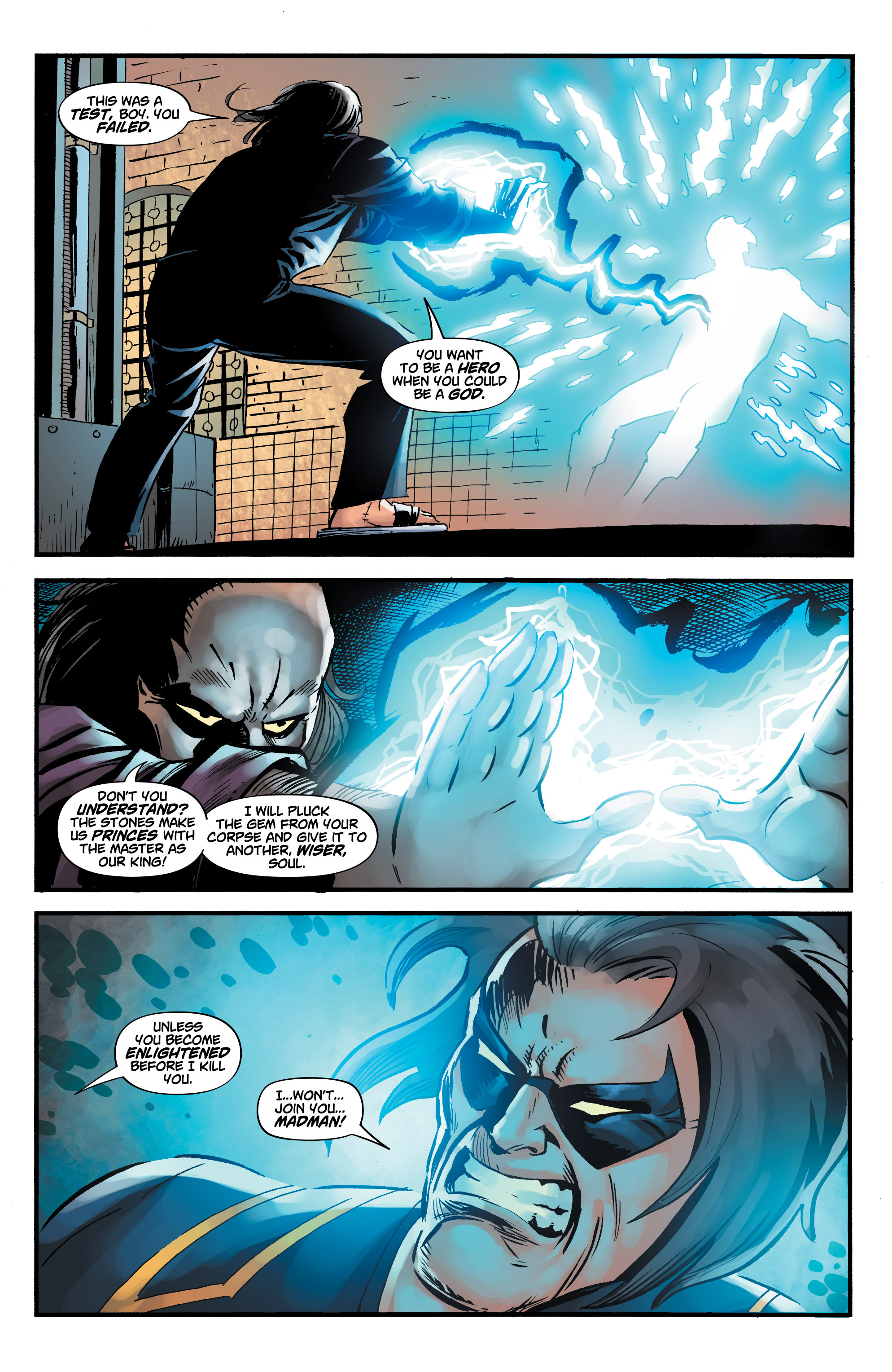 Read online Shadow Tiger comic -  Issue #3 - 22