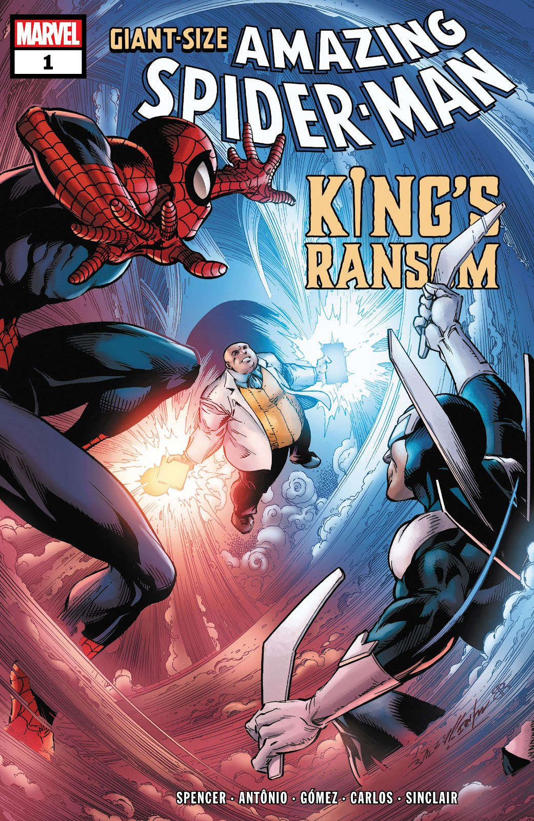 Giant Size Amazing Spider-Man: King's Ransom issue 1 - Page 1