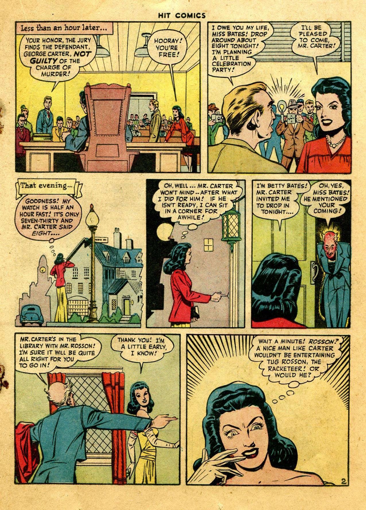 Read online Hit Comics comic -  Issue #44 - 31