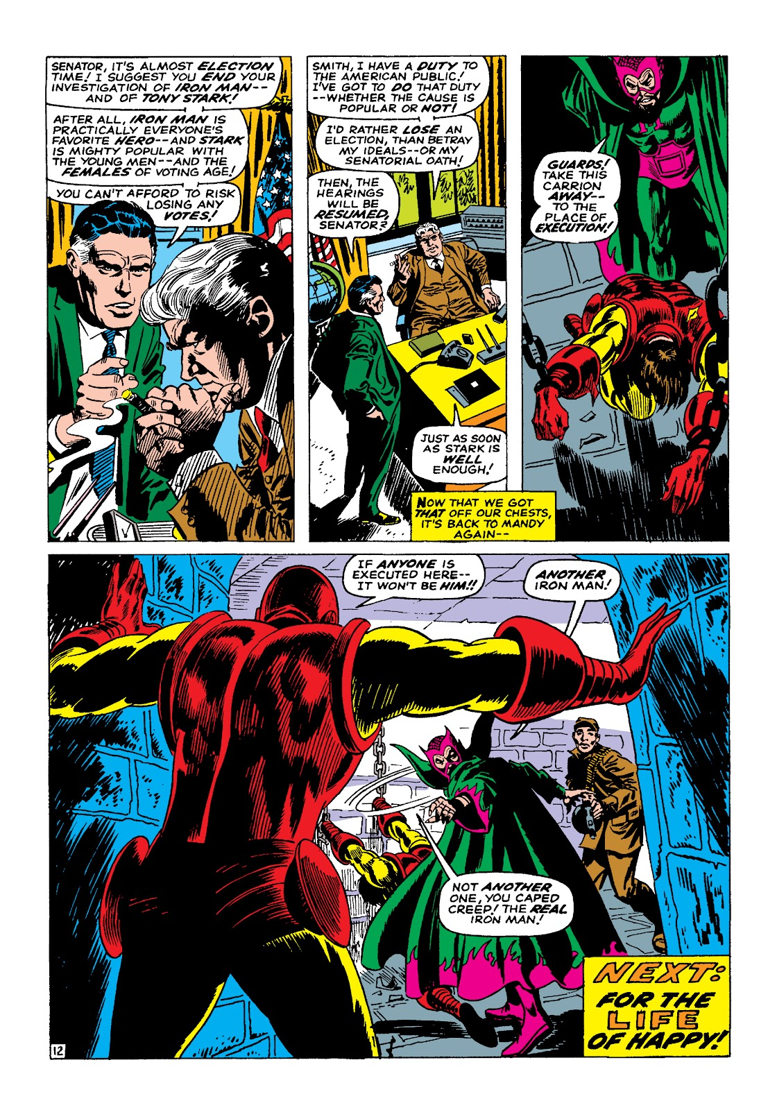 Read online Marvel Masterworks: The Invincible Iron Man comic -  Issue # TPB 4 (Part 1) - 31