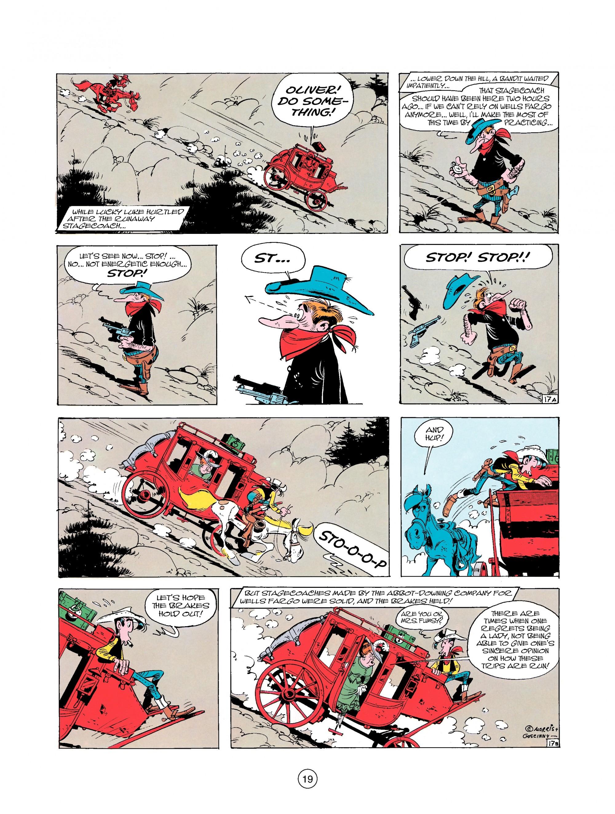 Read online A Lucky Luke Adventure comic -  Issue #25 - 19