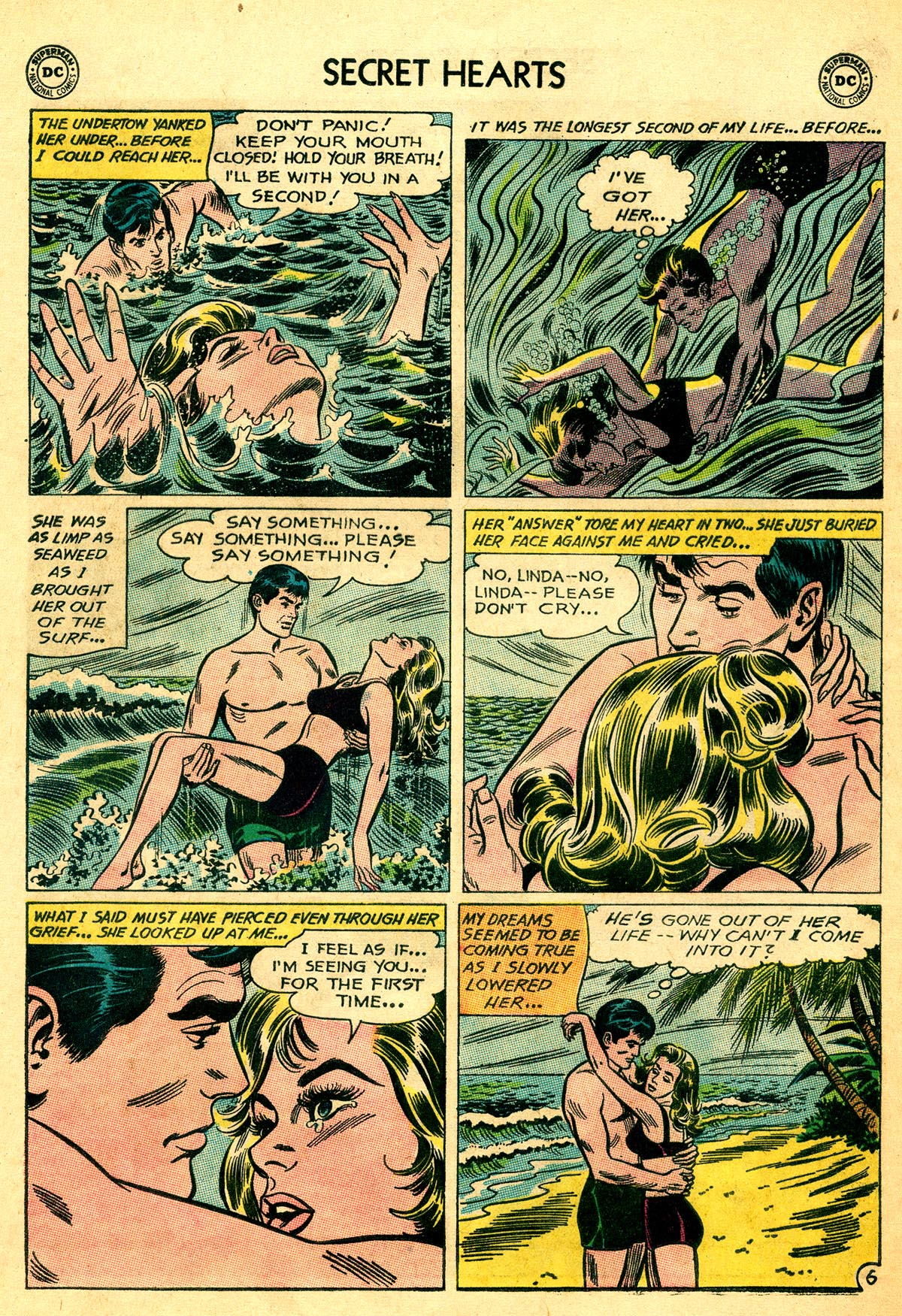 Read online Secret Hearts comic -  Issue #93 - 32
