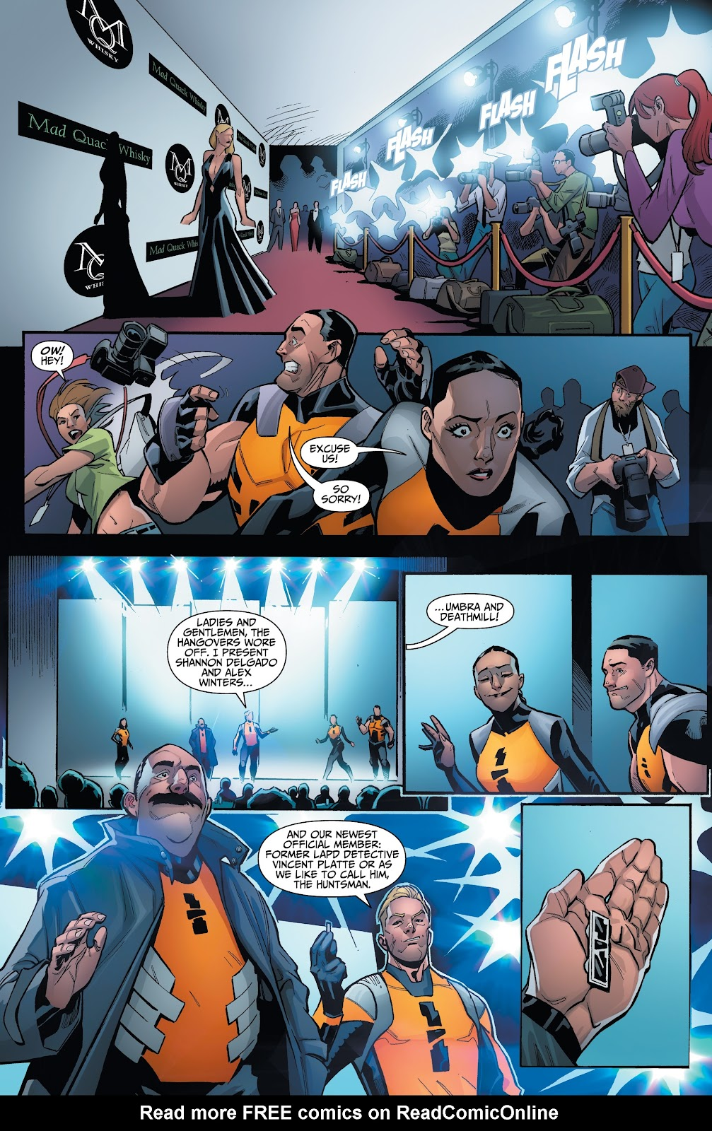 Read online Incidentals comic -  Issue #15 - 5