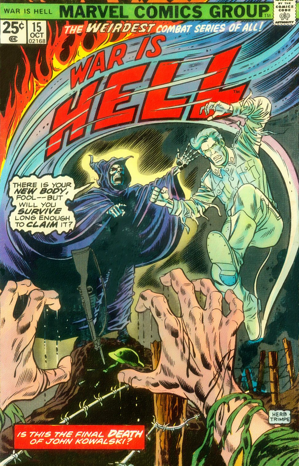 War Is Hell (1973) issue 15 - Page 1