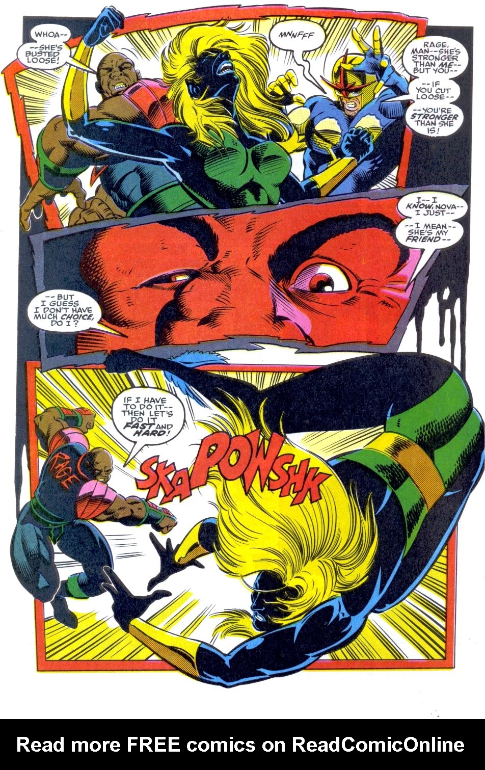 The New Warriors Issue #34 #38 - English 4