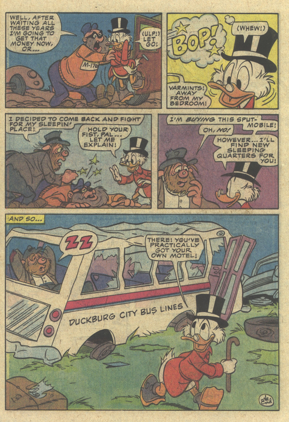 Read online Uncle Scrooge (1953) comic -  Issue #204 - 20