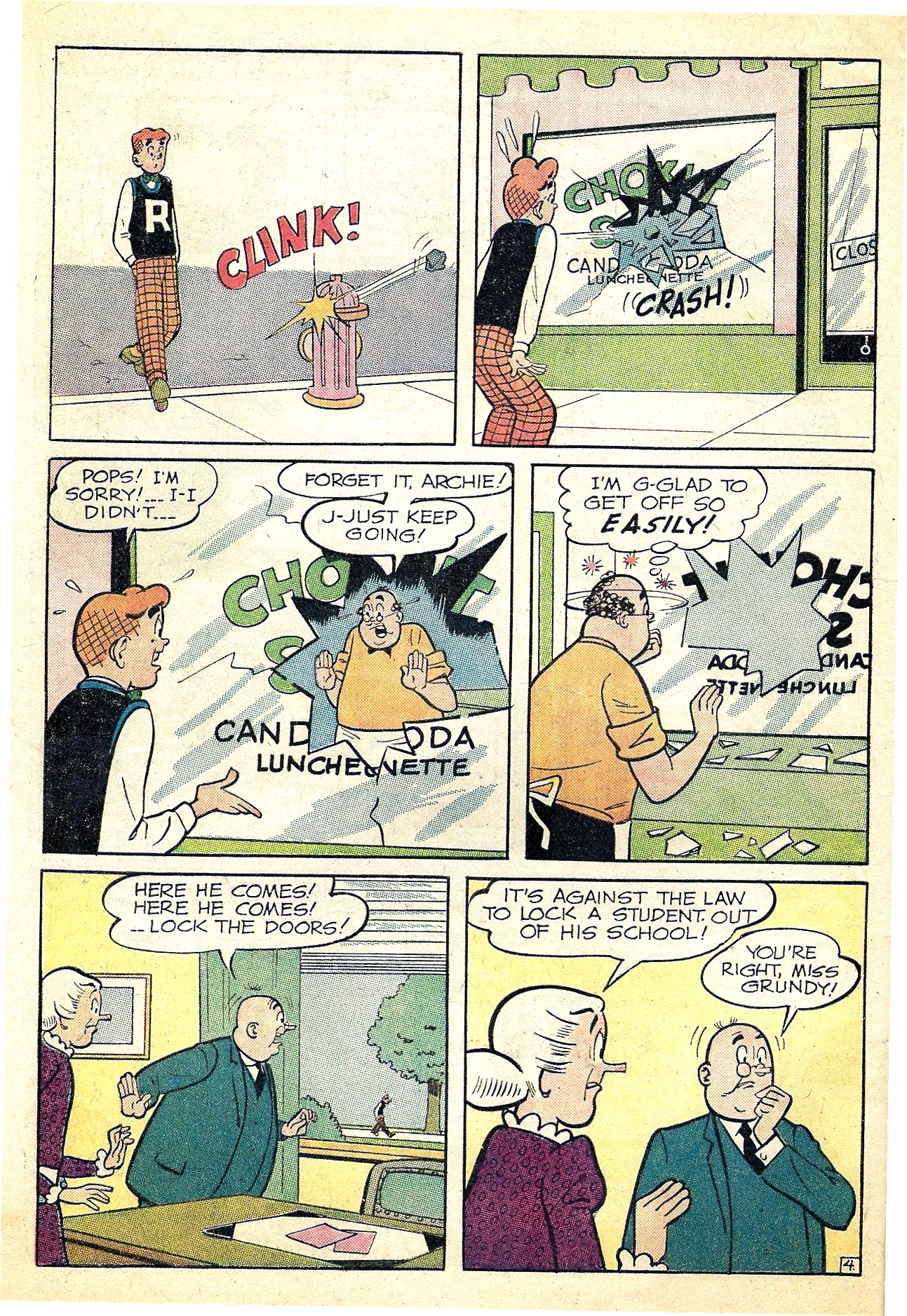 Read online Archie (1960) comic -  Issue #127 - 32