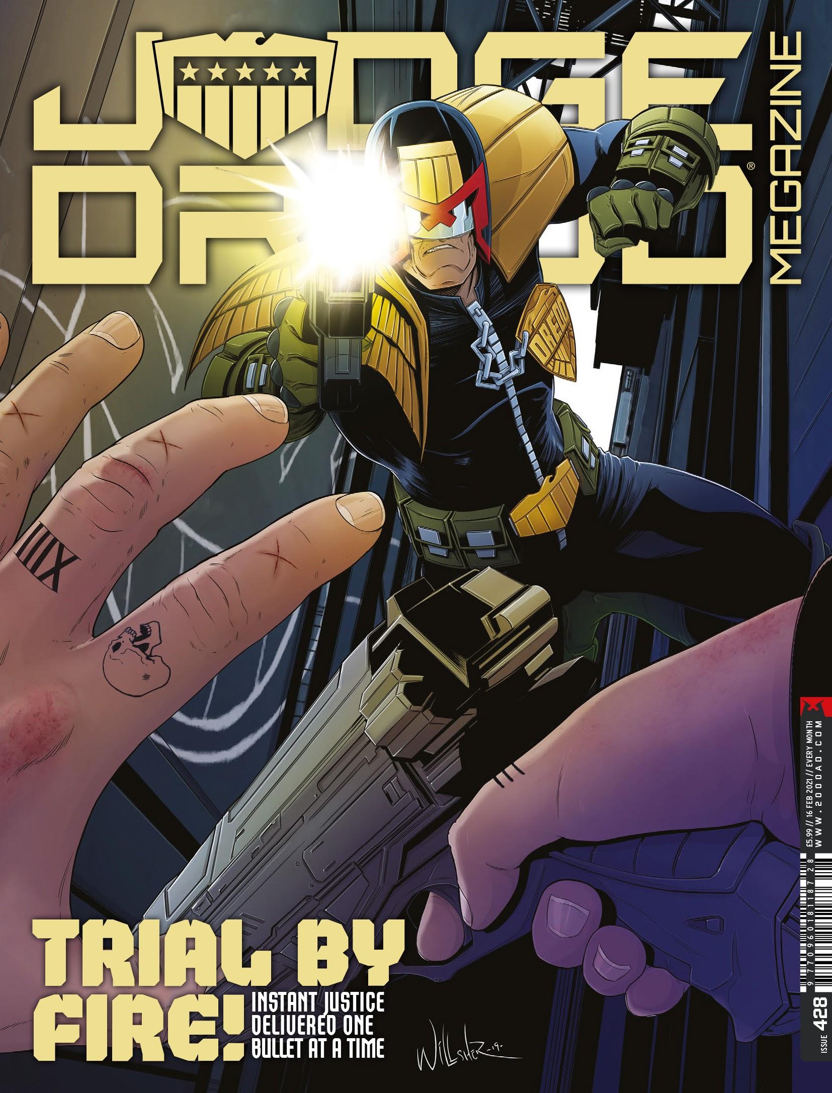Judge Dredd Megazine (Vol. 5) issue 428 - Page 1