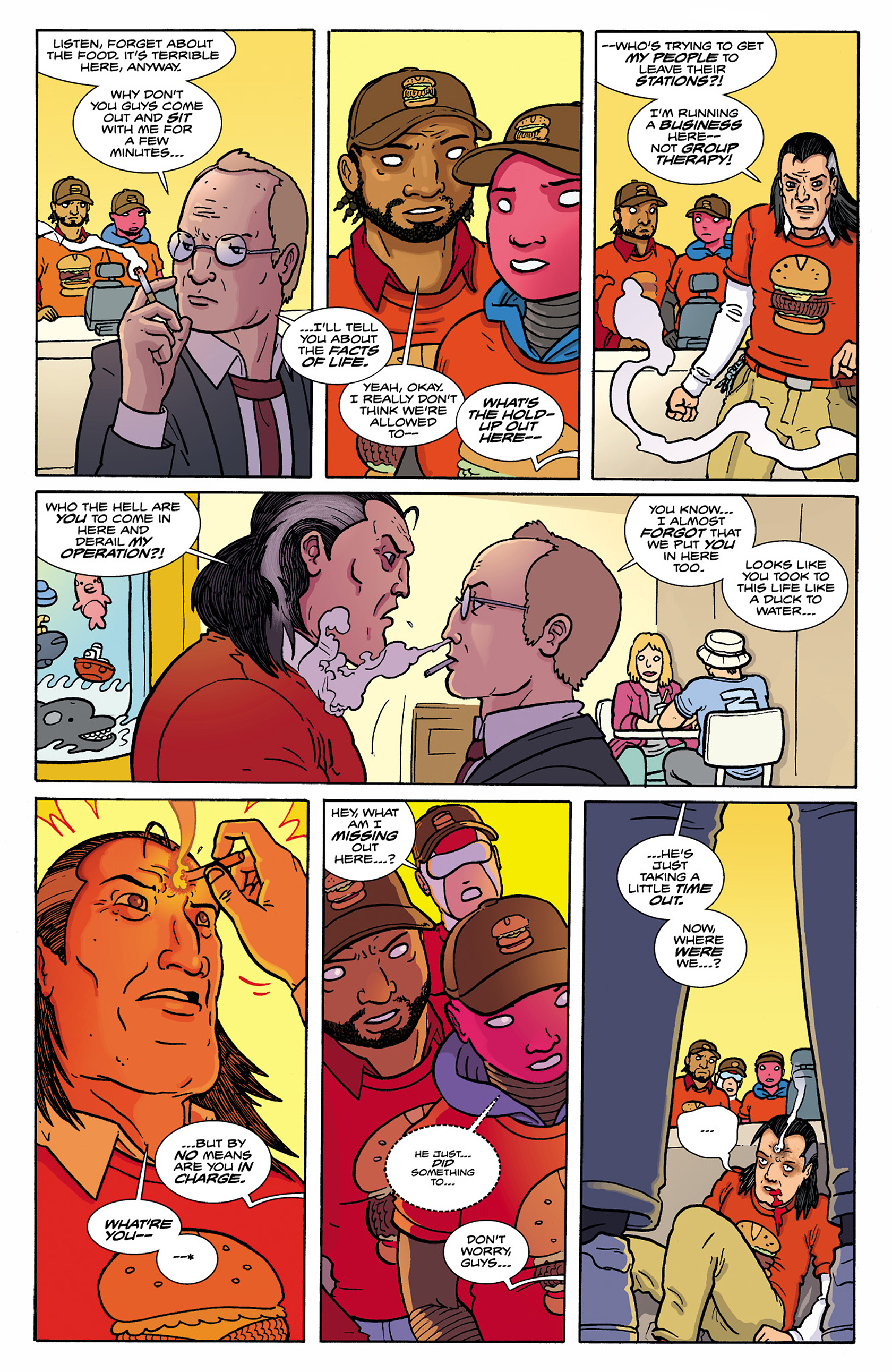 Read online Catalyst Comix comic -  Issue #8 - 5